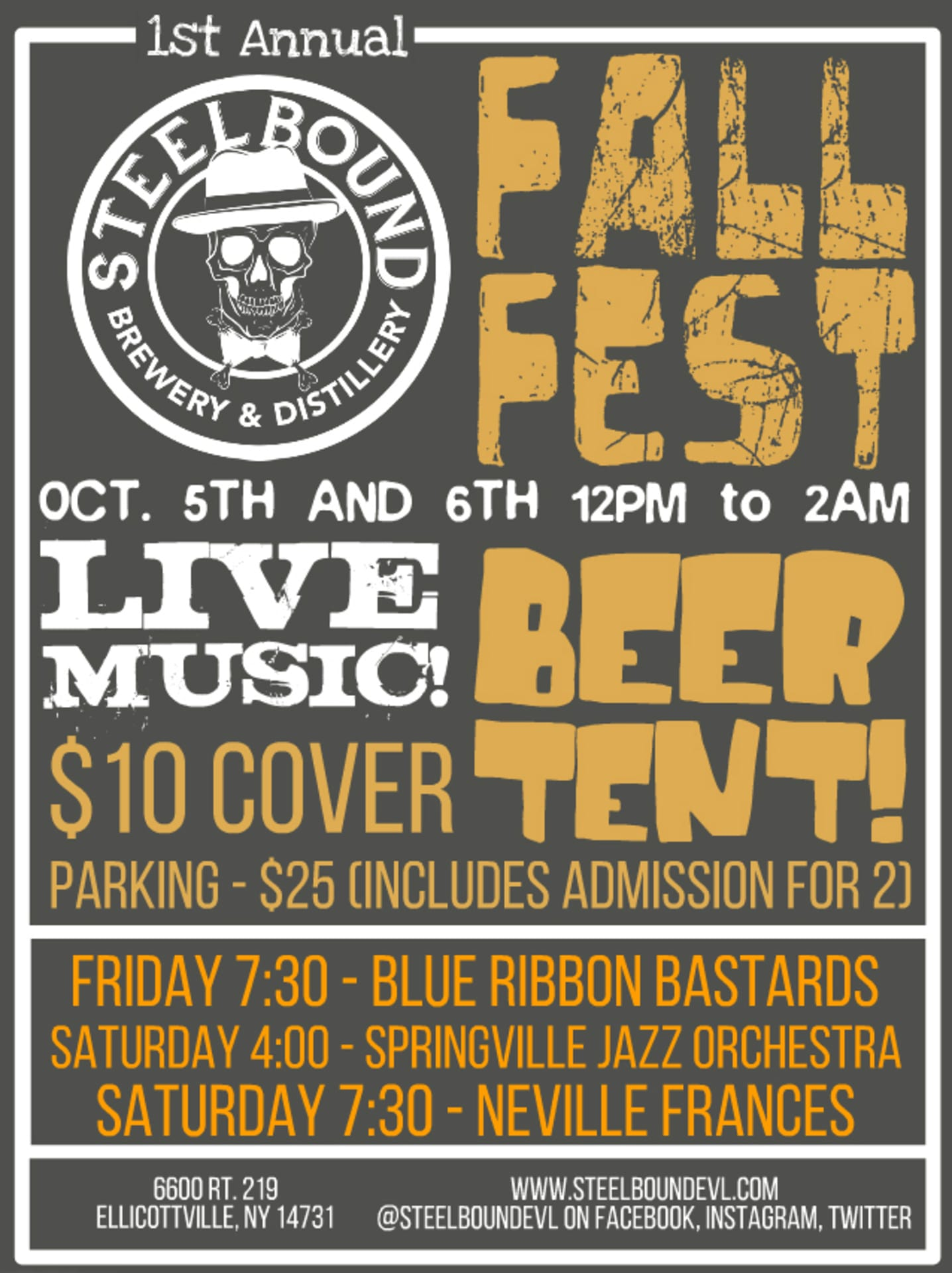 Fall Fest at Steelbound!
