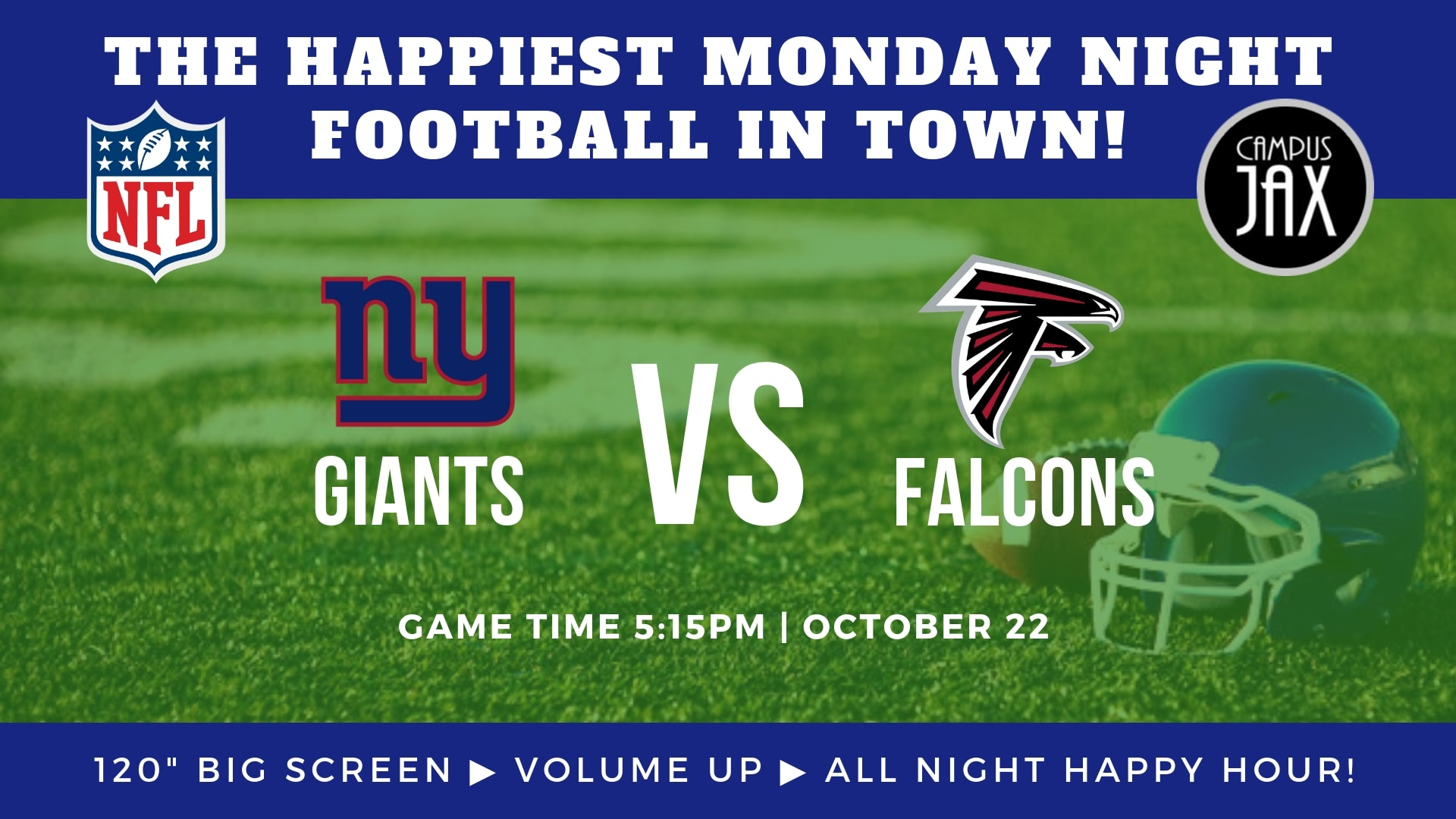 October 22 | MONDAY NIGHT FOOTBALL