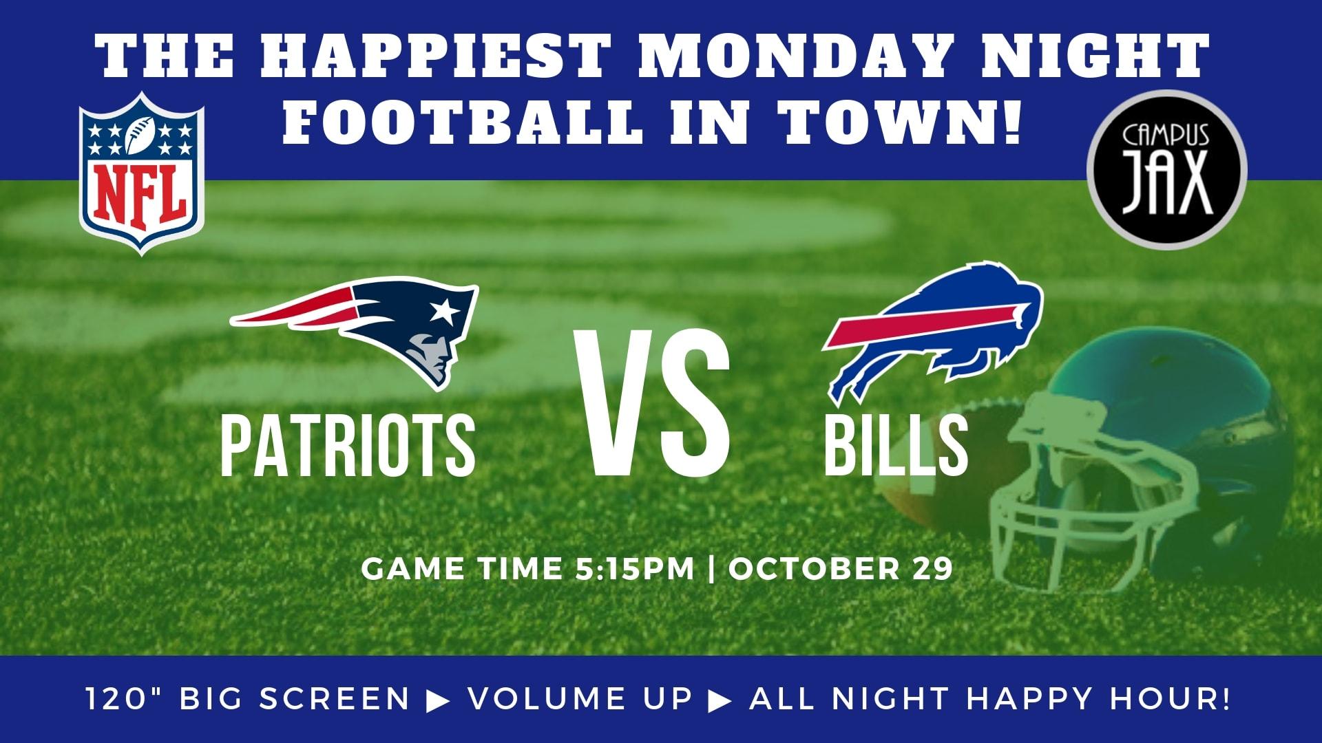 October 29 | MONDAY NIGHT FOOTBALL