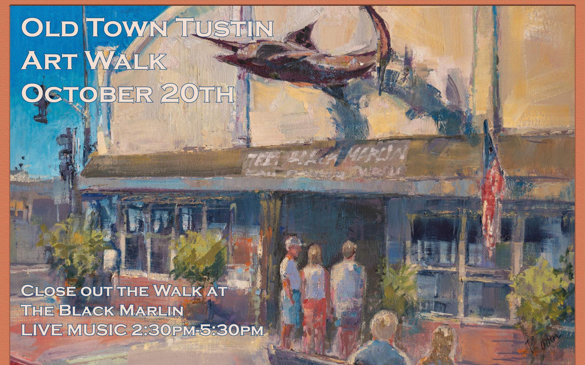 OCT 20 | Tustin Art Walk