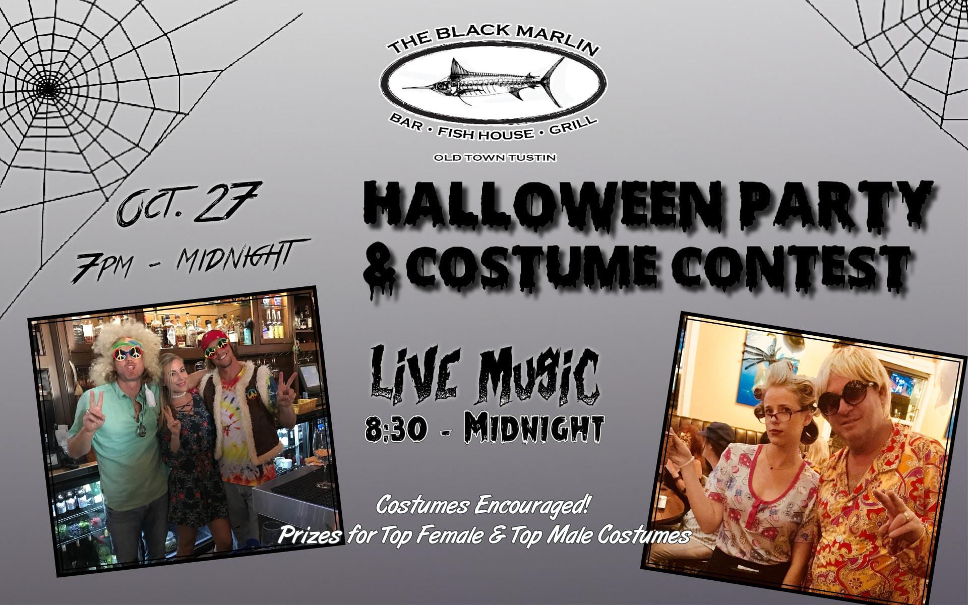 OCT 27 | 5th Annual Halloween Bash & Costume Contest