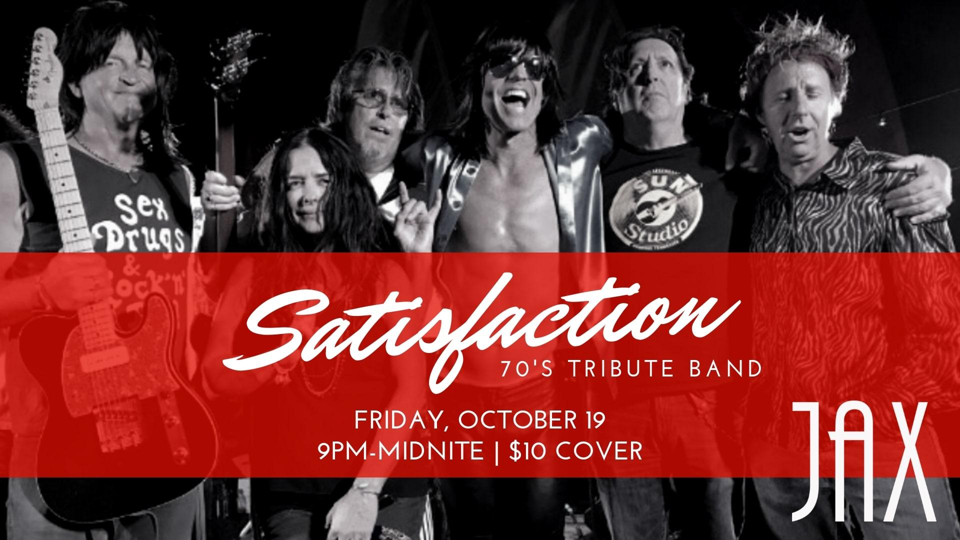 October 19 | SATISFACTION