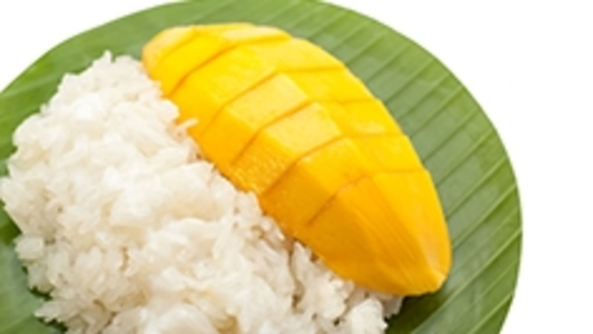 Mango w/ Sweet Sticky Rice