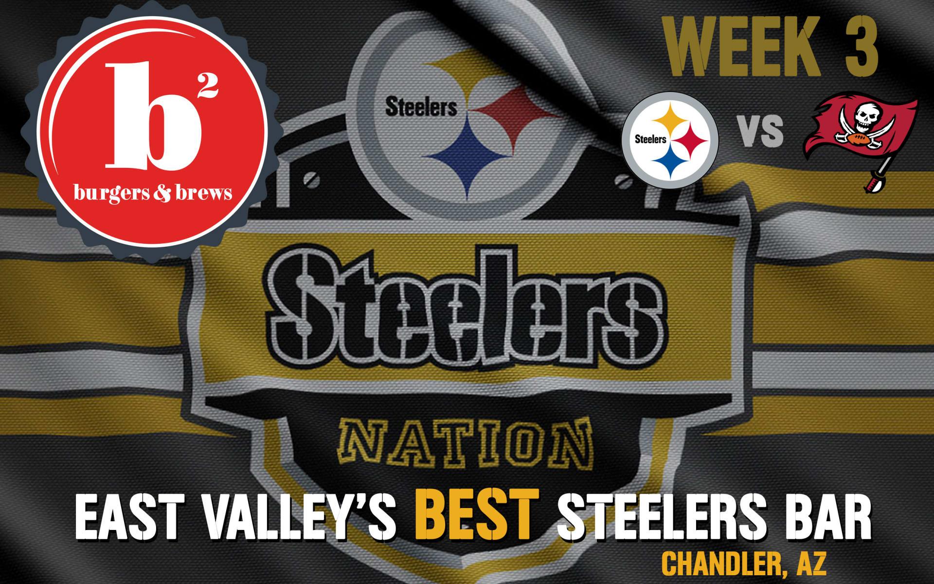 Monday Night Football Week 3: Pittsburgh Steelers vs. Tampa Bay Buccaneers