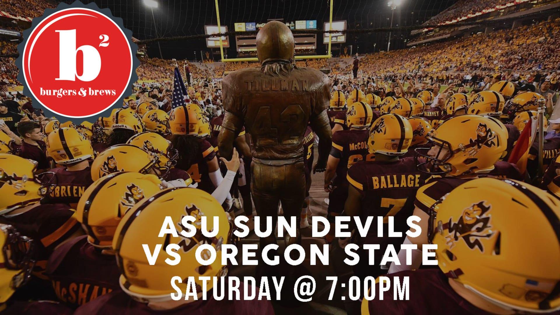 ASU vs Oregon State