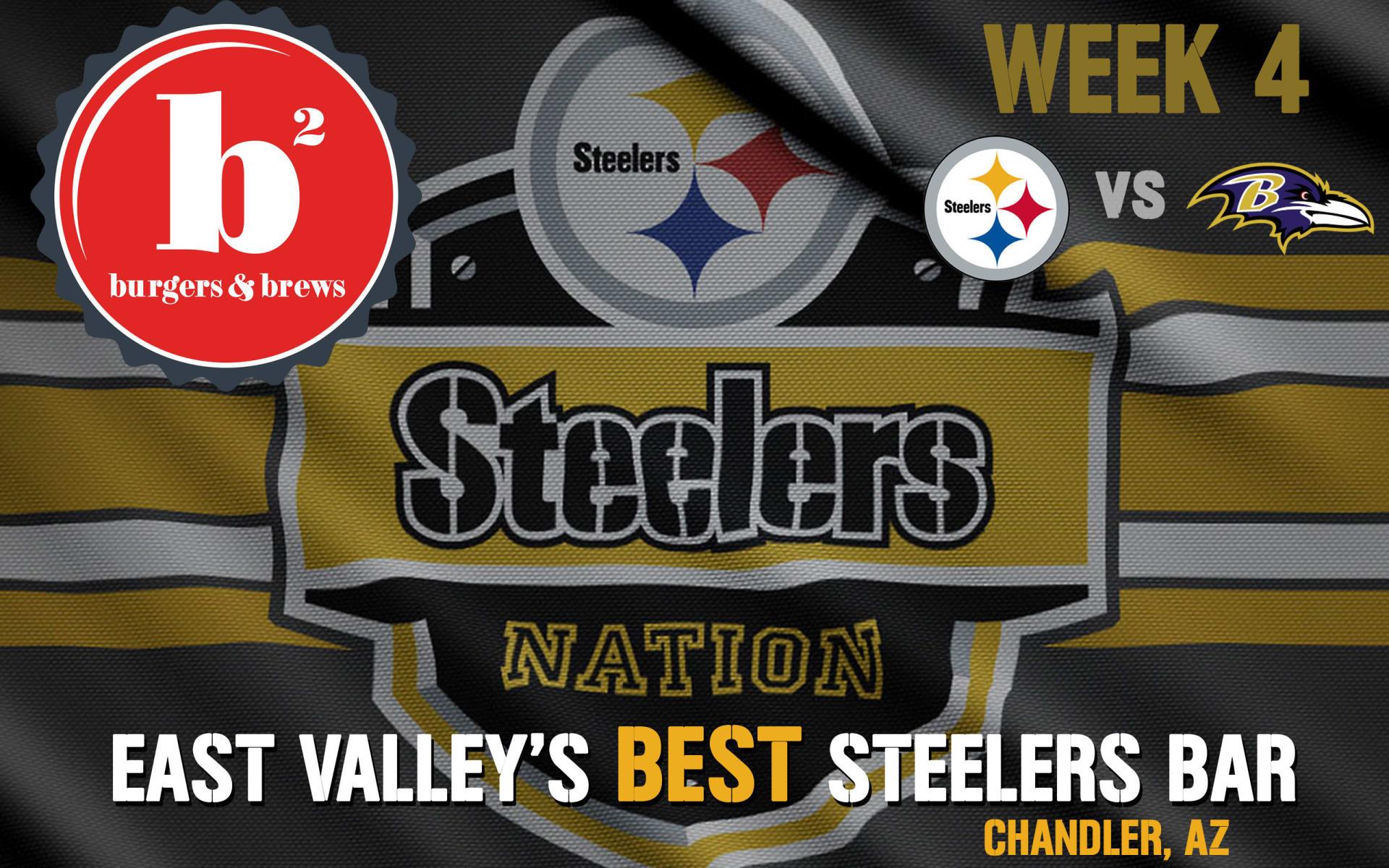 Week 4: Pittsburgh Steelers vs. Baltimore Ravens