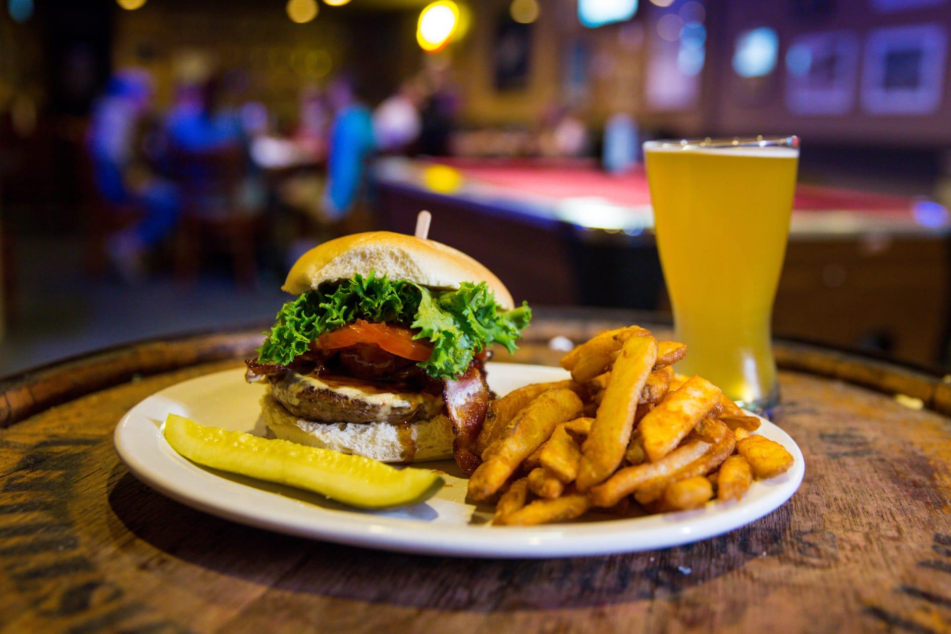 Kentucky Bourbon Company Burger