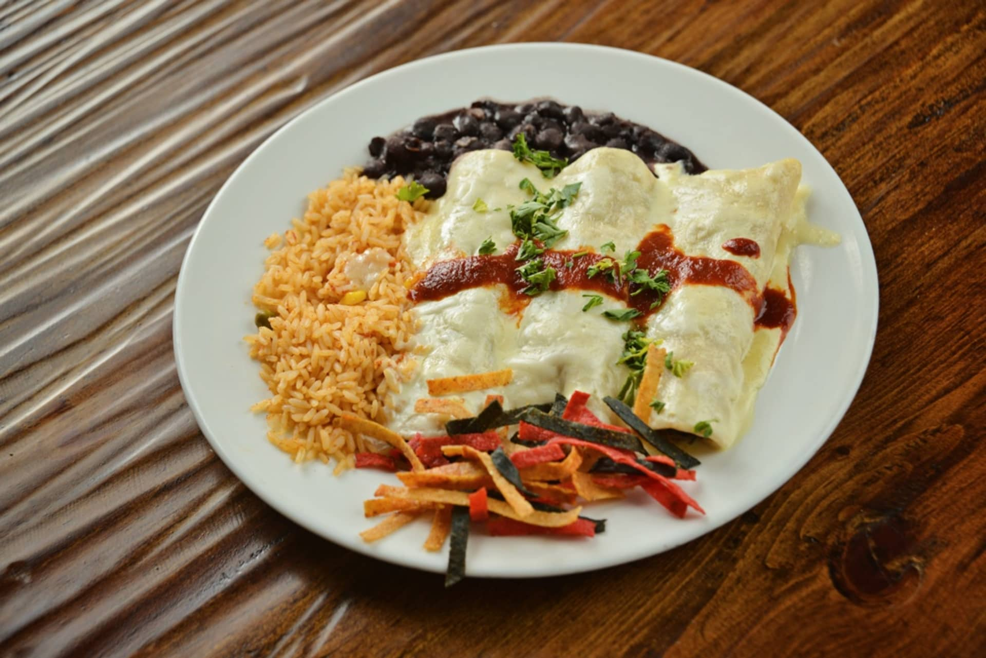 Enchiladas de Espinaca
