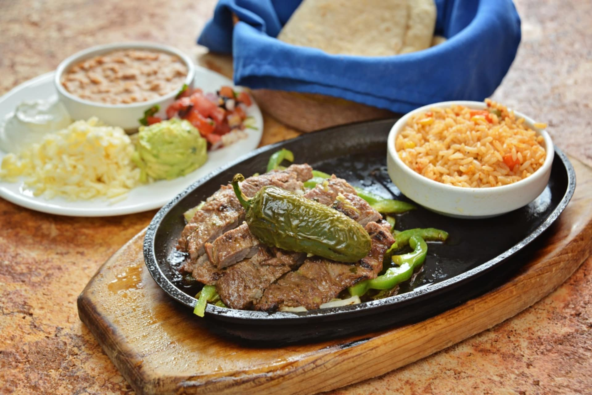 Fajitas Arracheras