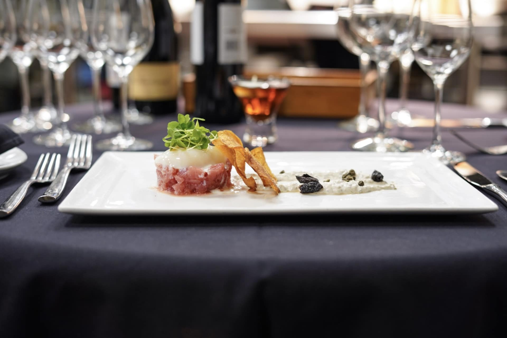Hawaiian Tuna Tartare