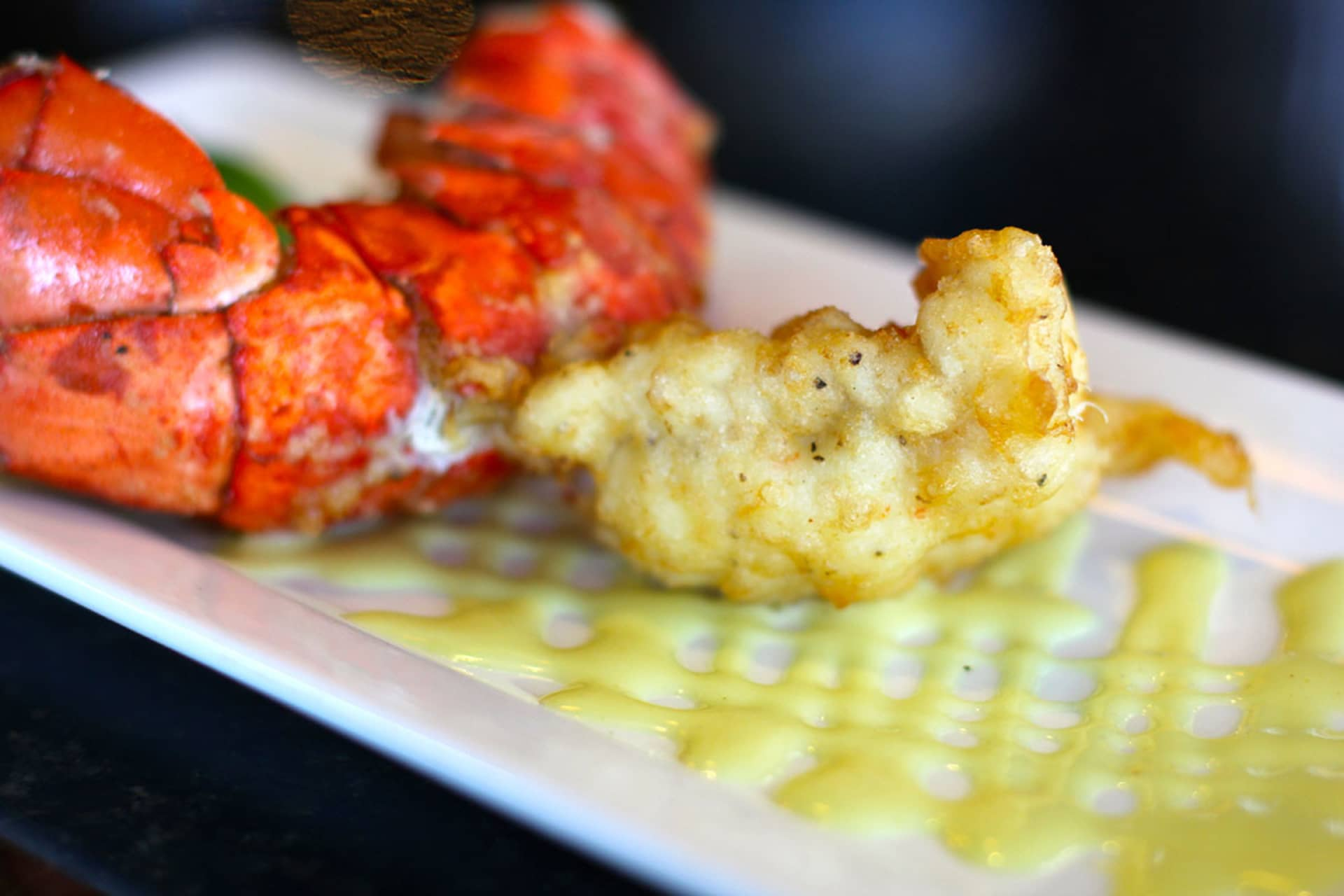 Tempura Fried Lobster Tail