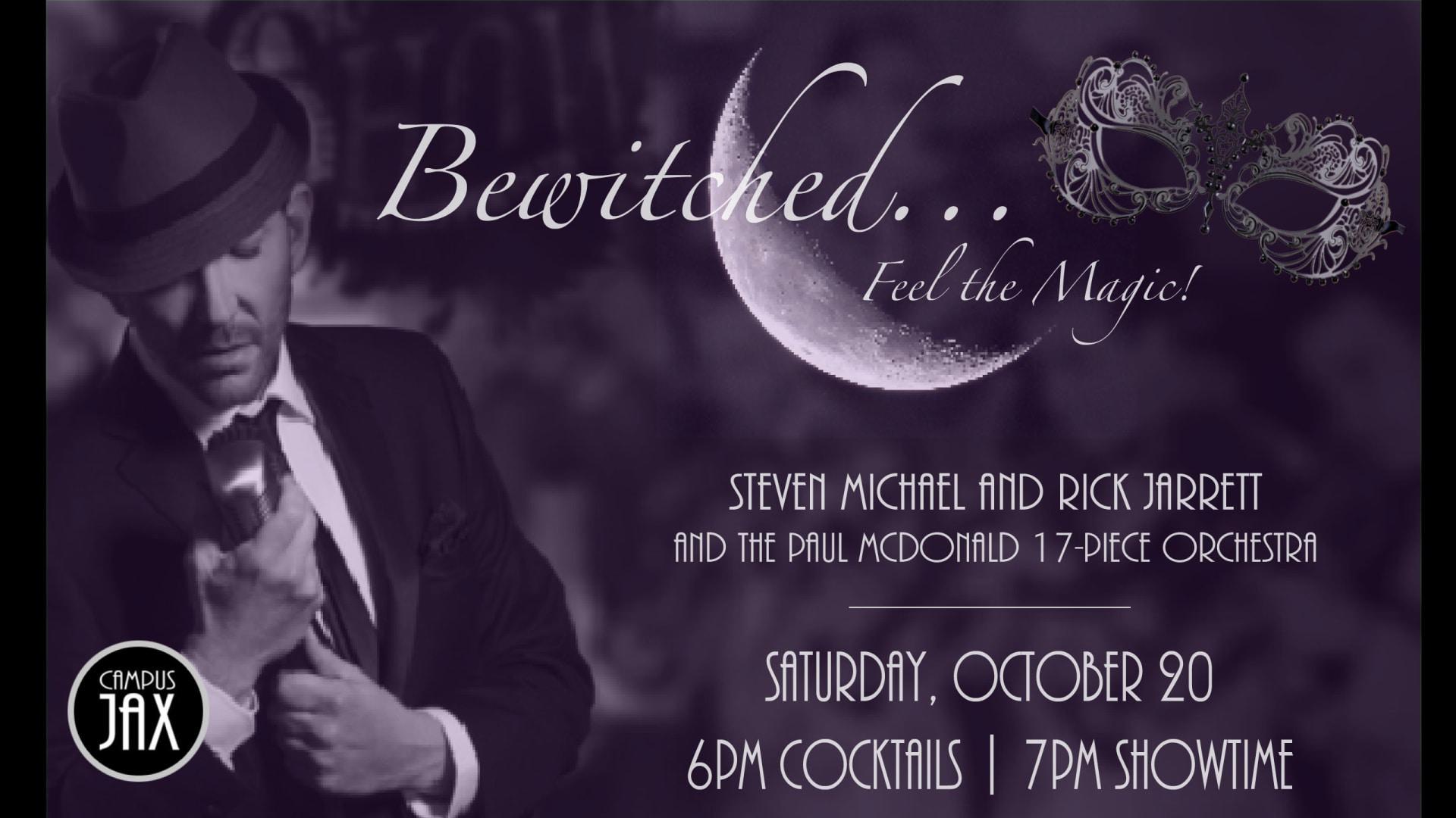 "October 20 | ""BEWITCHED"" BIG BAND MASQUERADE"