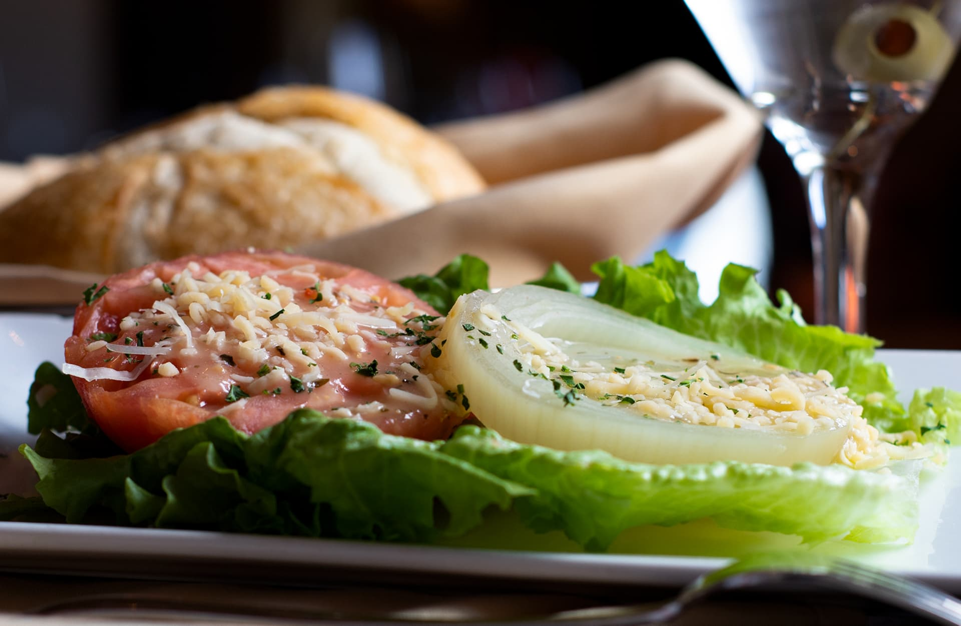 Tomato & Onion