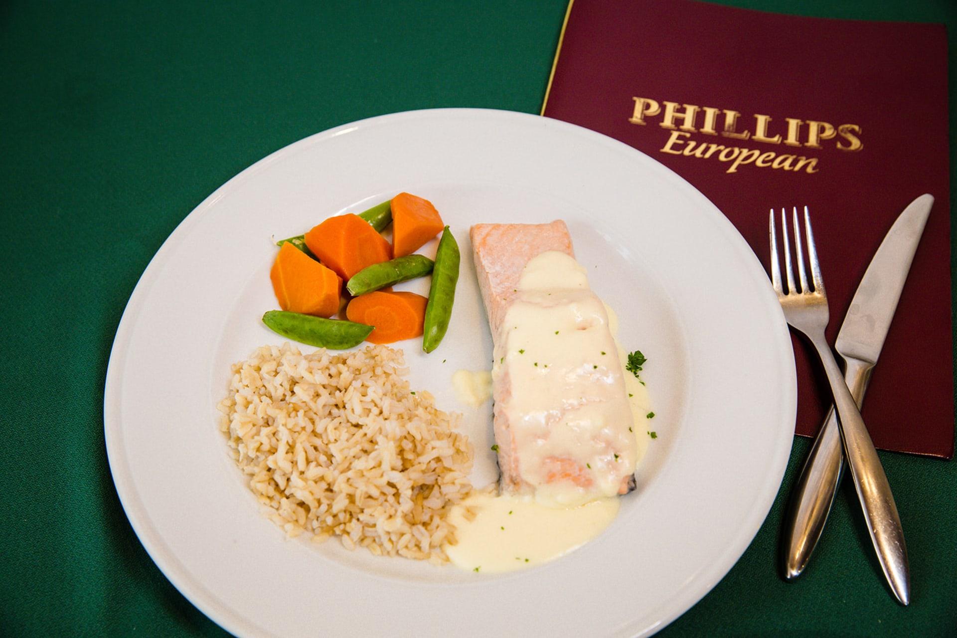 Poached Fresh Salmon