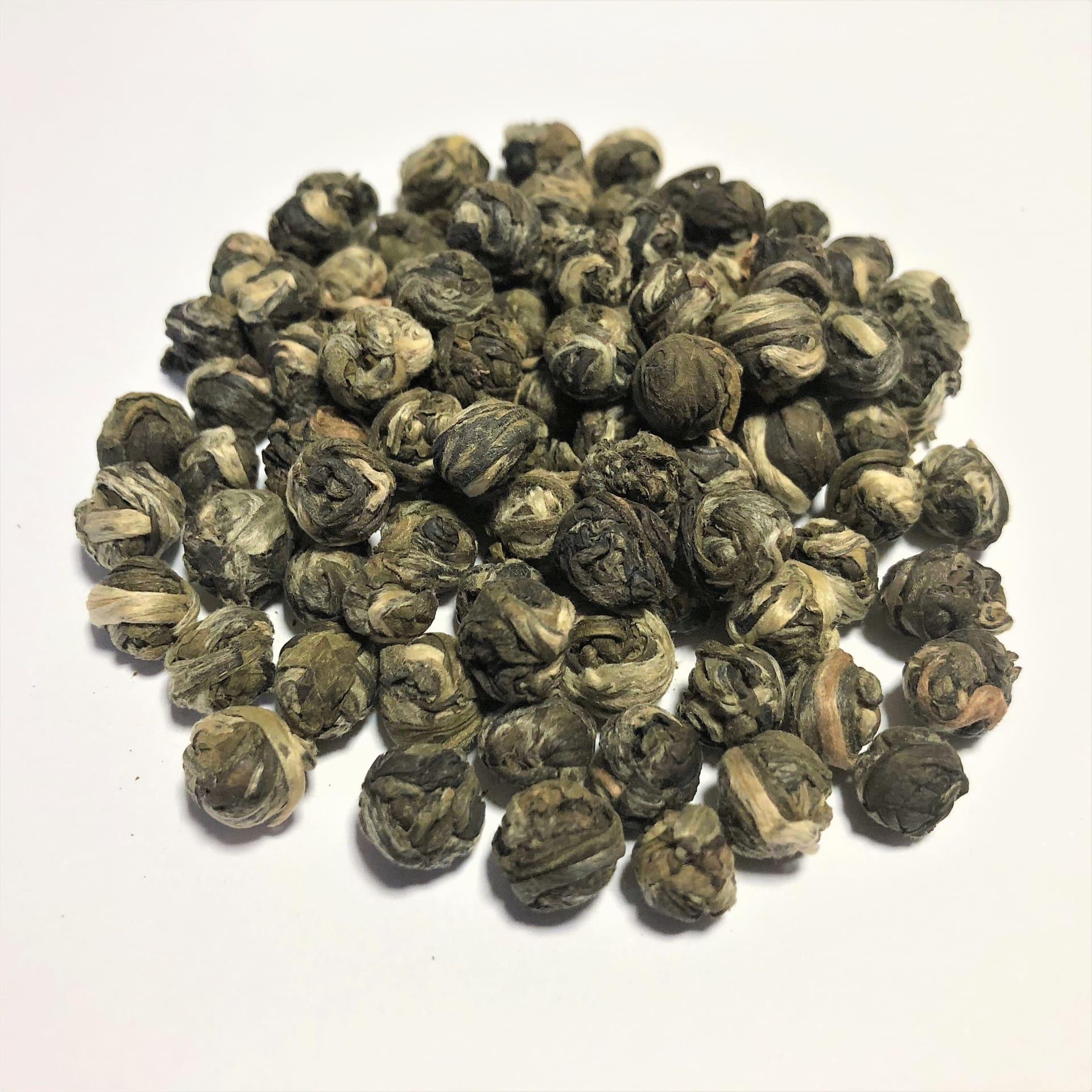 Organic Finest Jasmine Pearls - Loose Leaf Tea