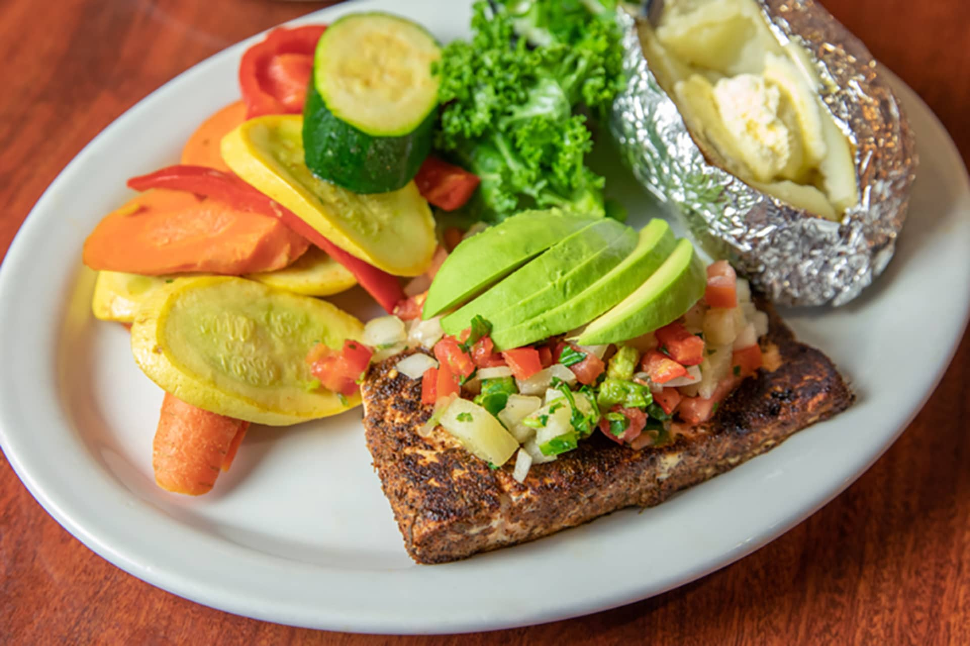Southwest Blackened Salmon
