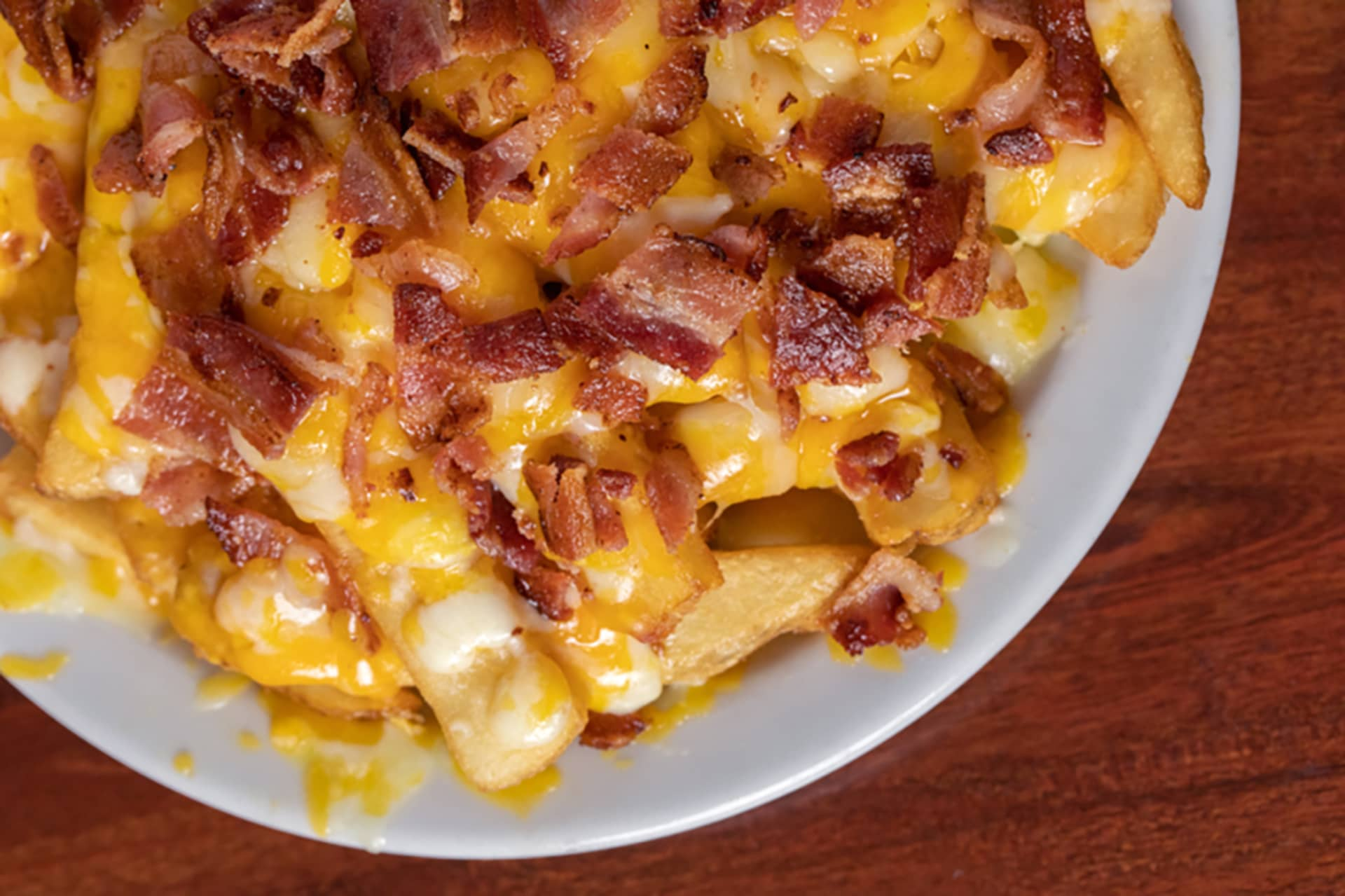 Smothered Cheese Fries