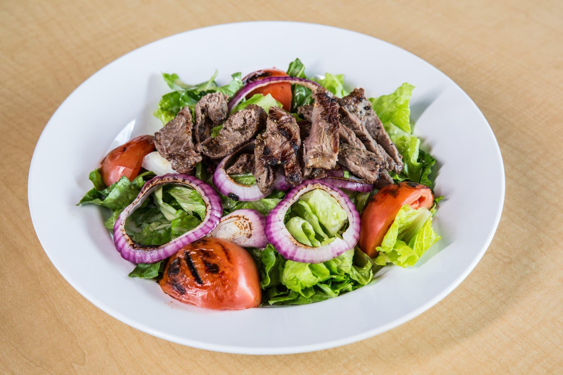 Honey Lime Grilled Steak Salad