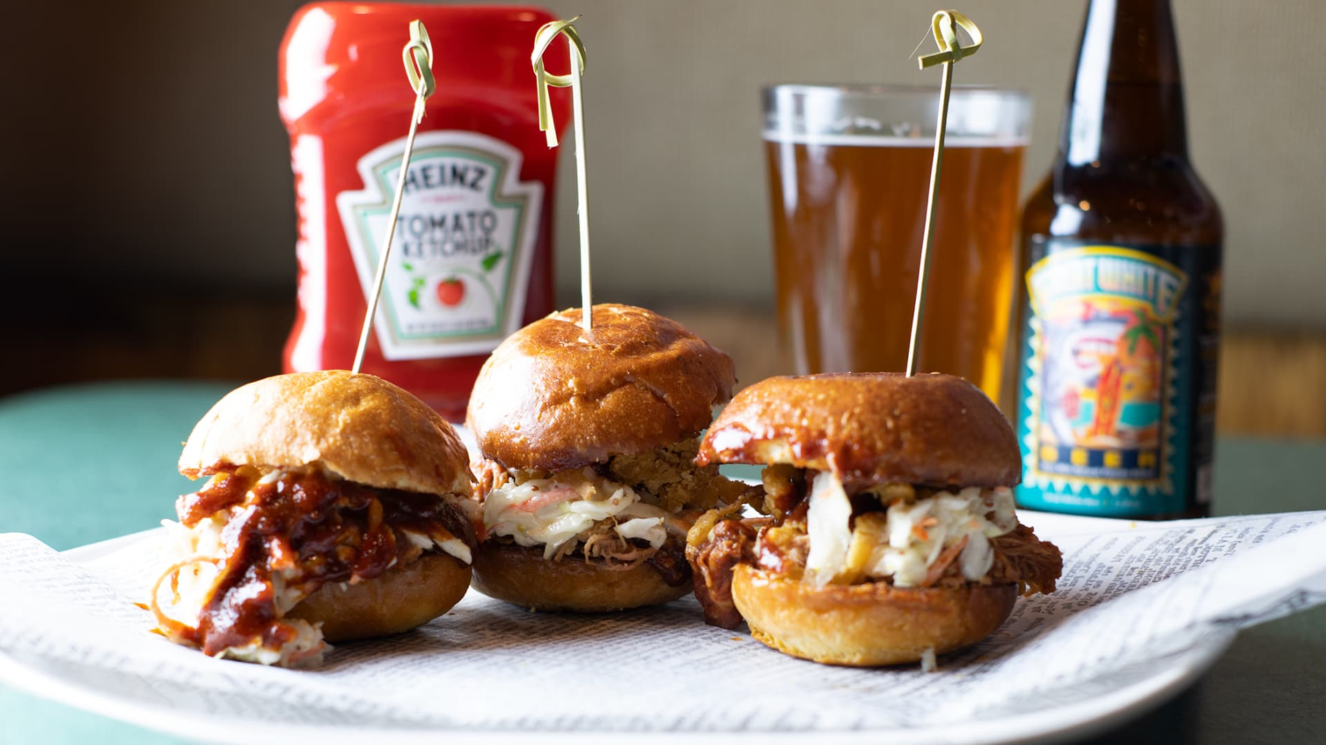 BBQ PULLED PORK SLIDER