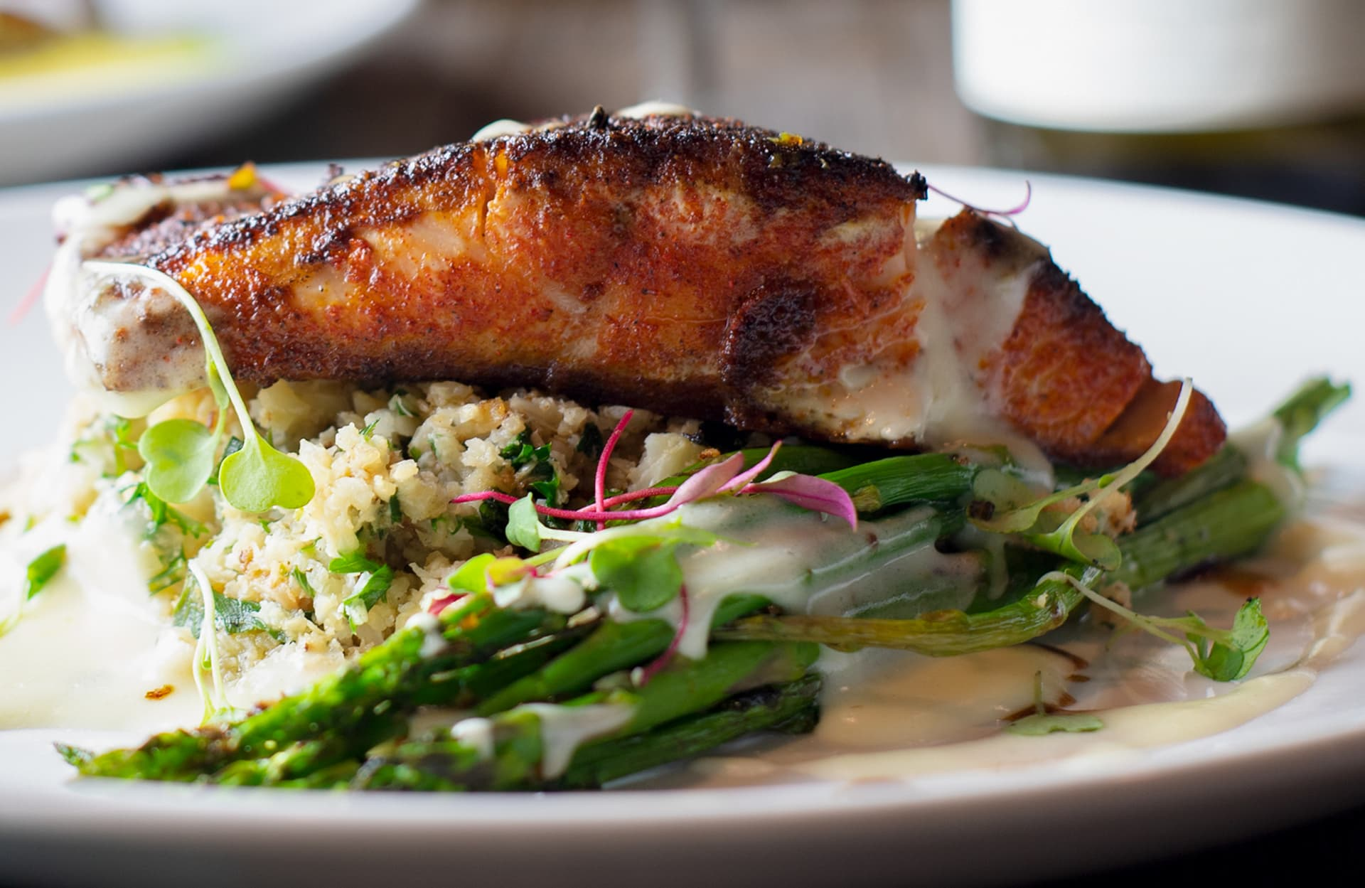 BLACKENED WILD SALMON