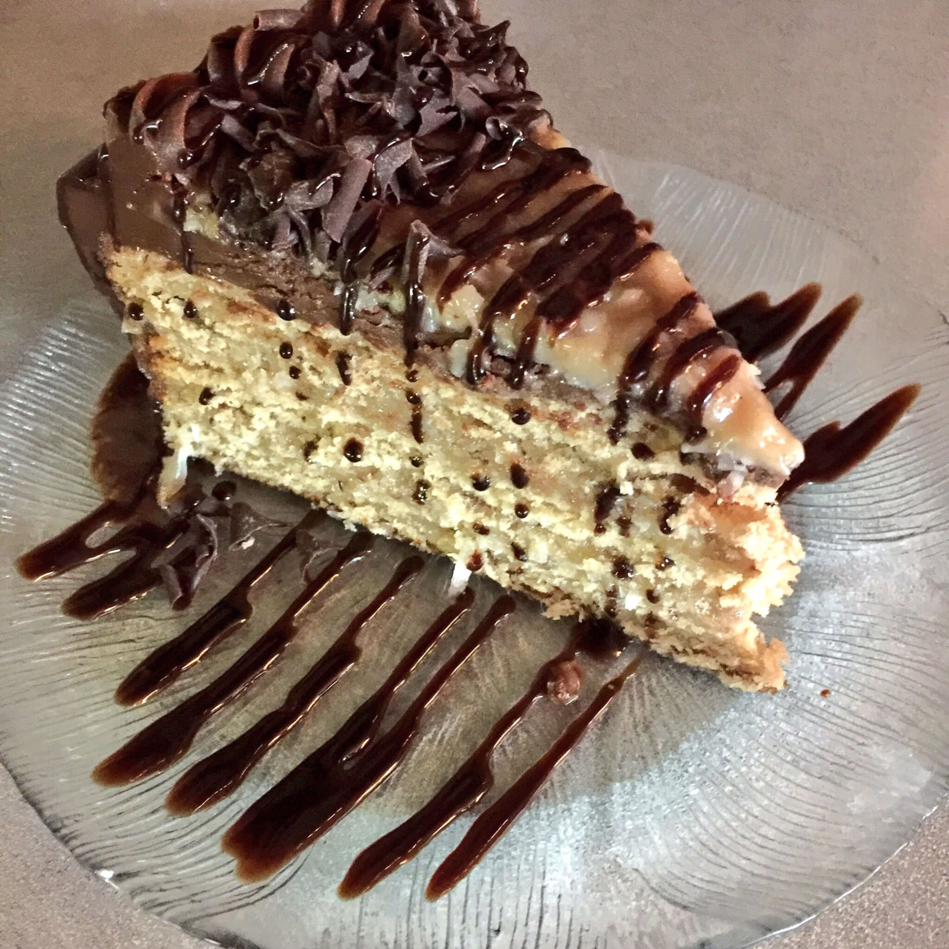German Chocolate Torte