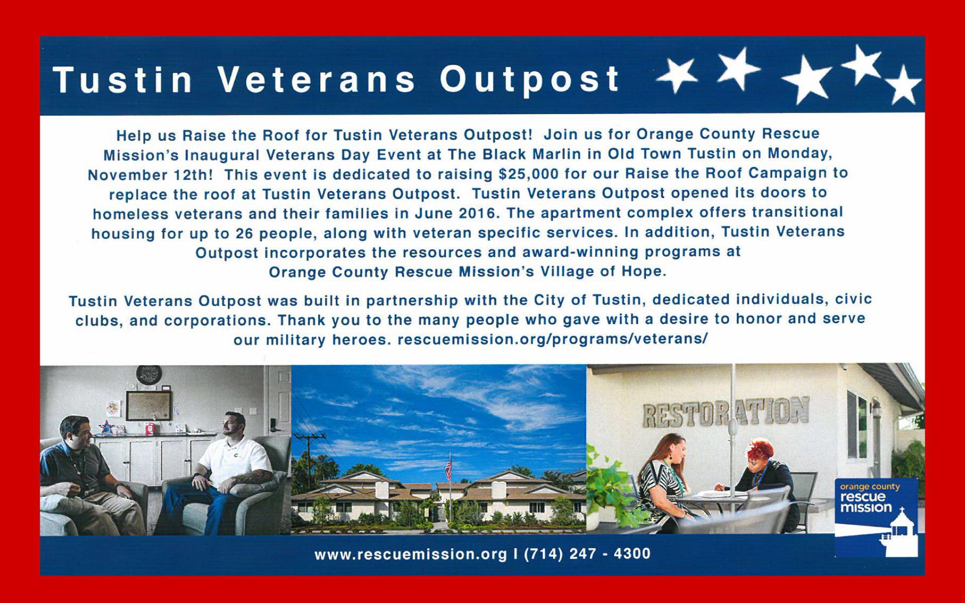 NOV 12 | Veteran's Day Event