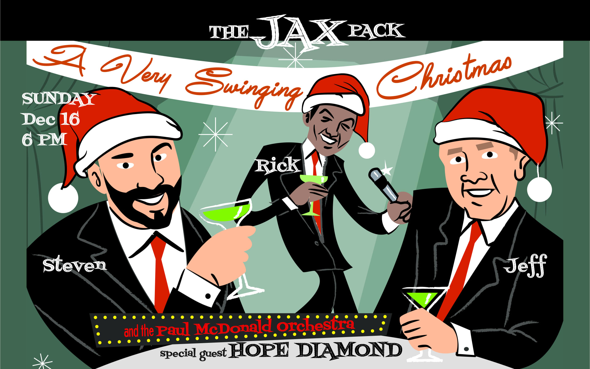 December 16 | A VERY SWINGING CHRISTMAS with THE JAX PACK