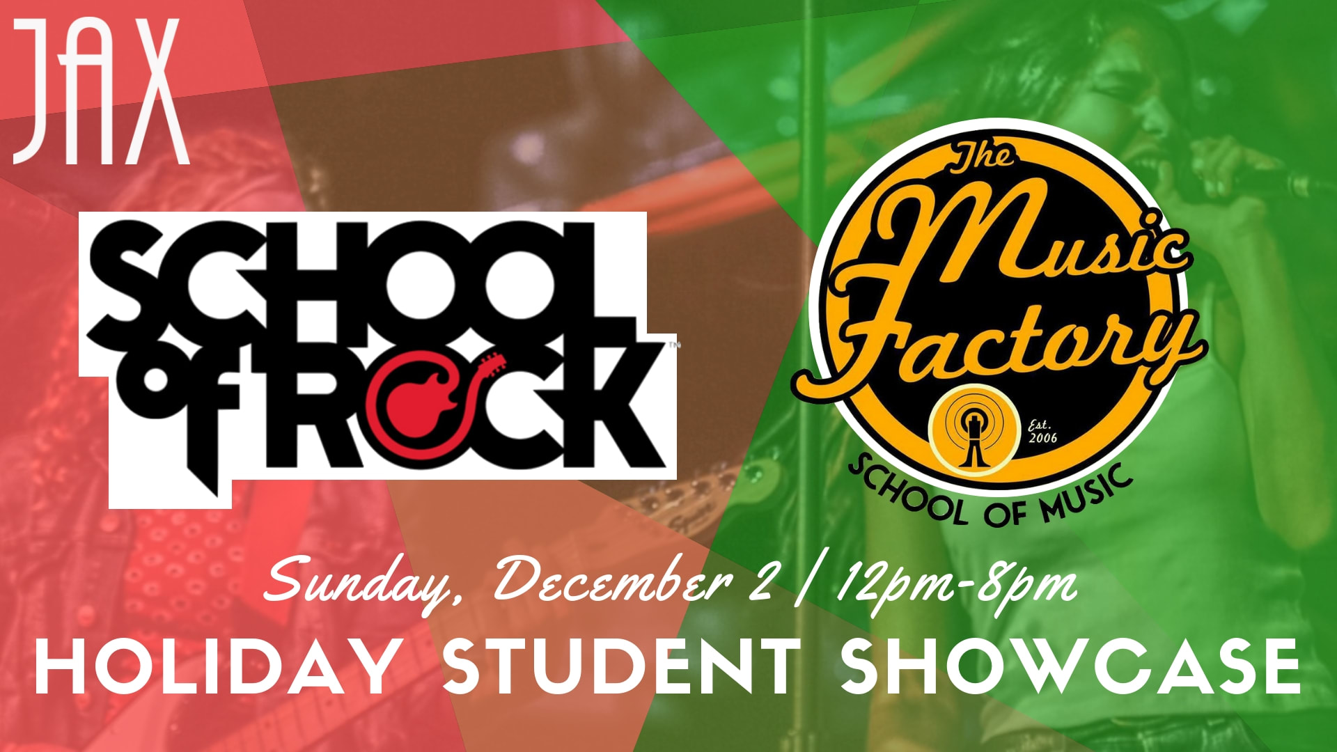 December 2 | STUDENT HOLIDAY SHOWCASE!