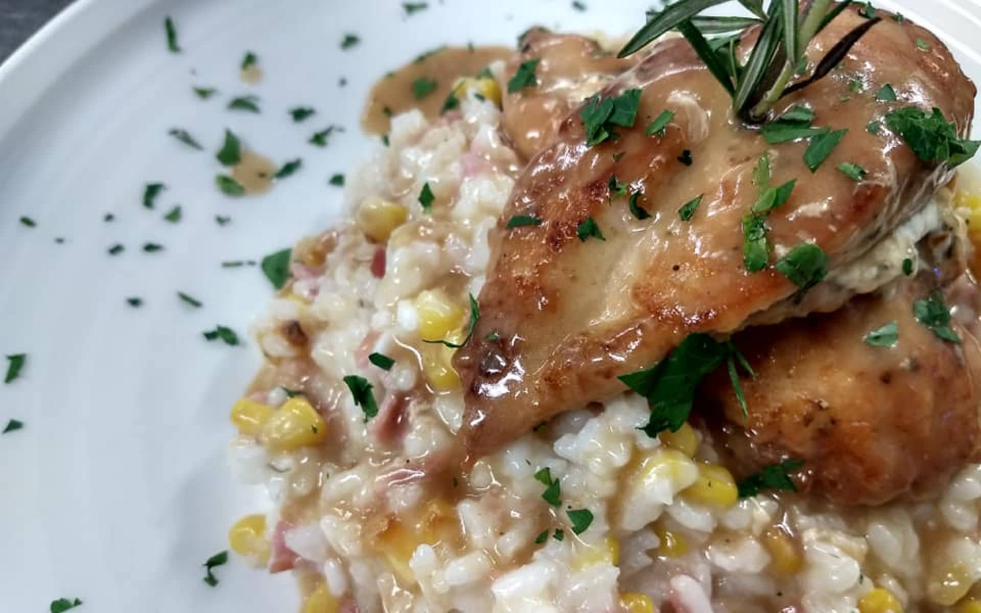 Chicken & Risotto