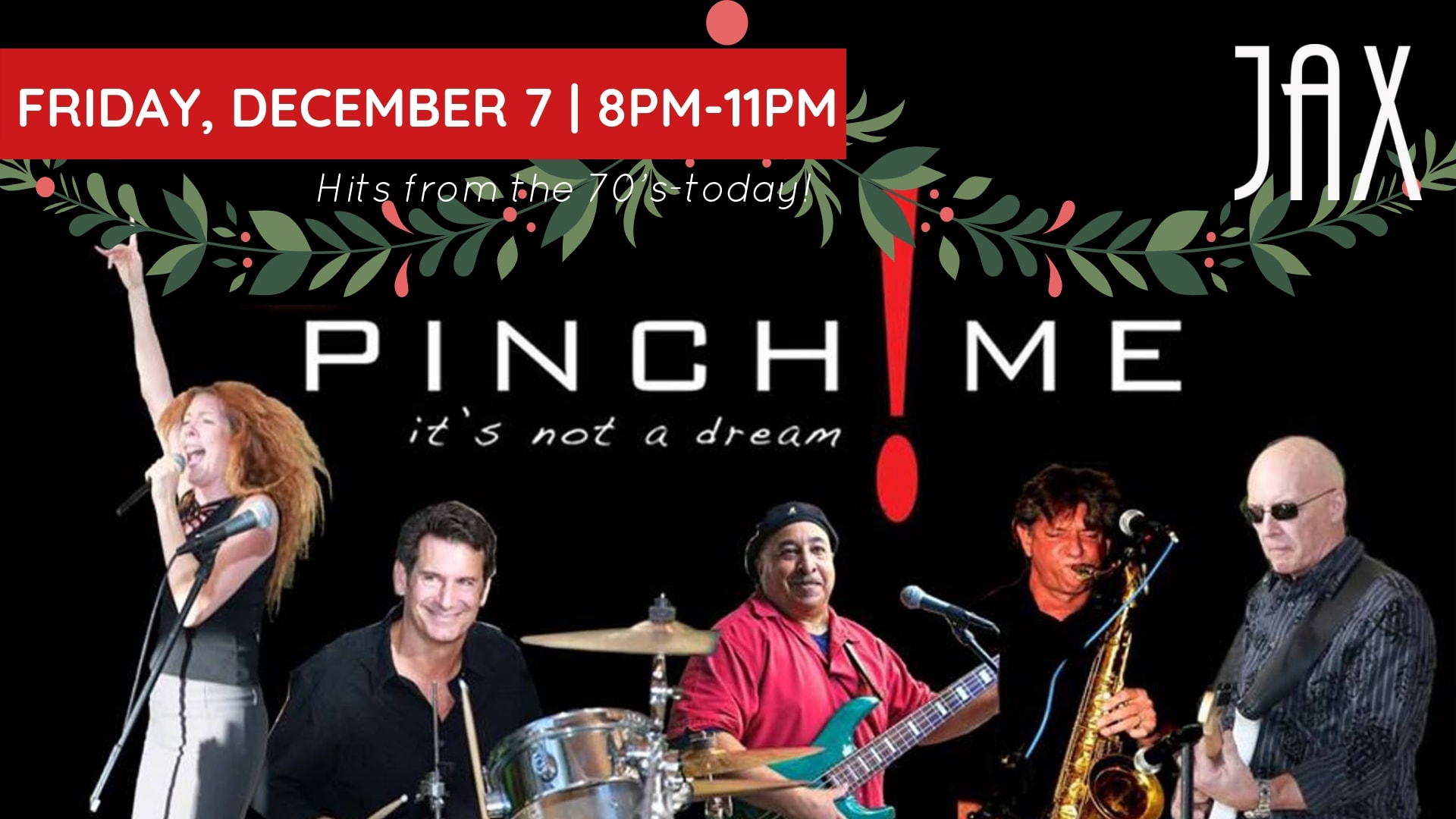 "December 7 | PINCH ME! ""THE PINCH THAT STOLE CHRISTMAS!"""