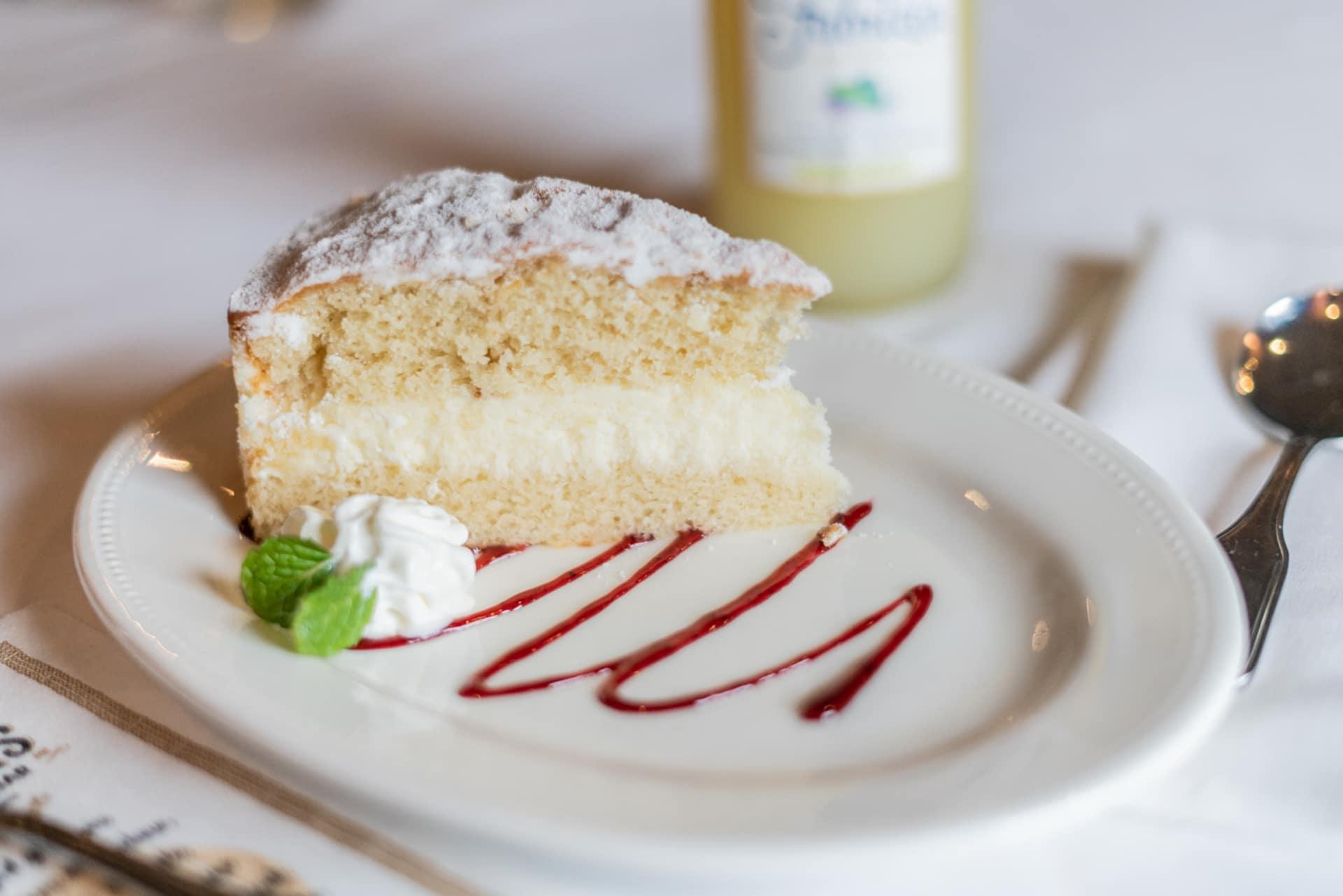 Italian Lemon Cream Layer Cake