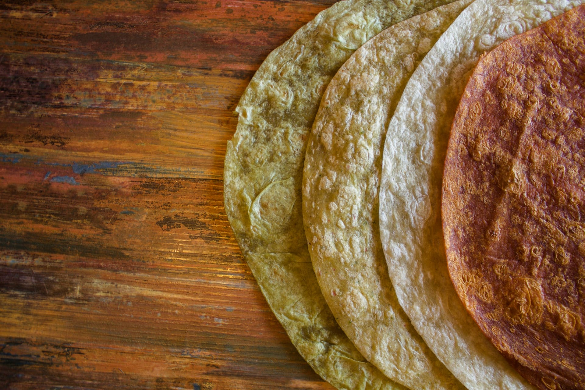 FRESHLY MADE GOURMET TORTILLAS