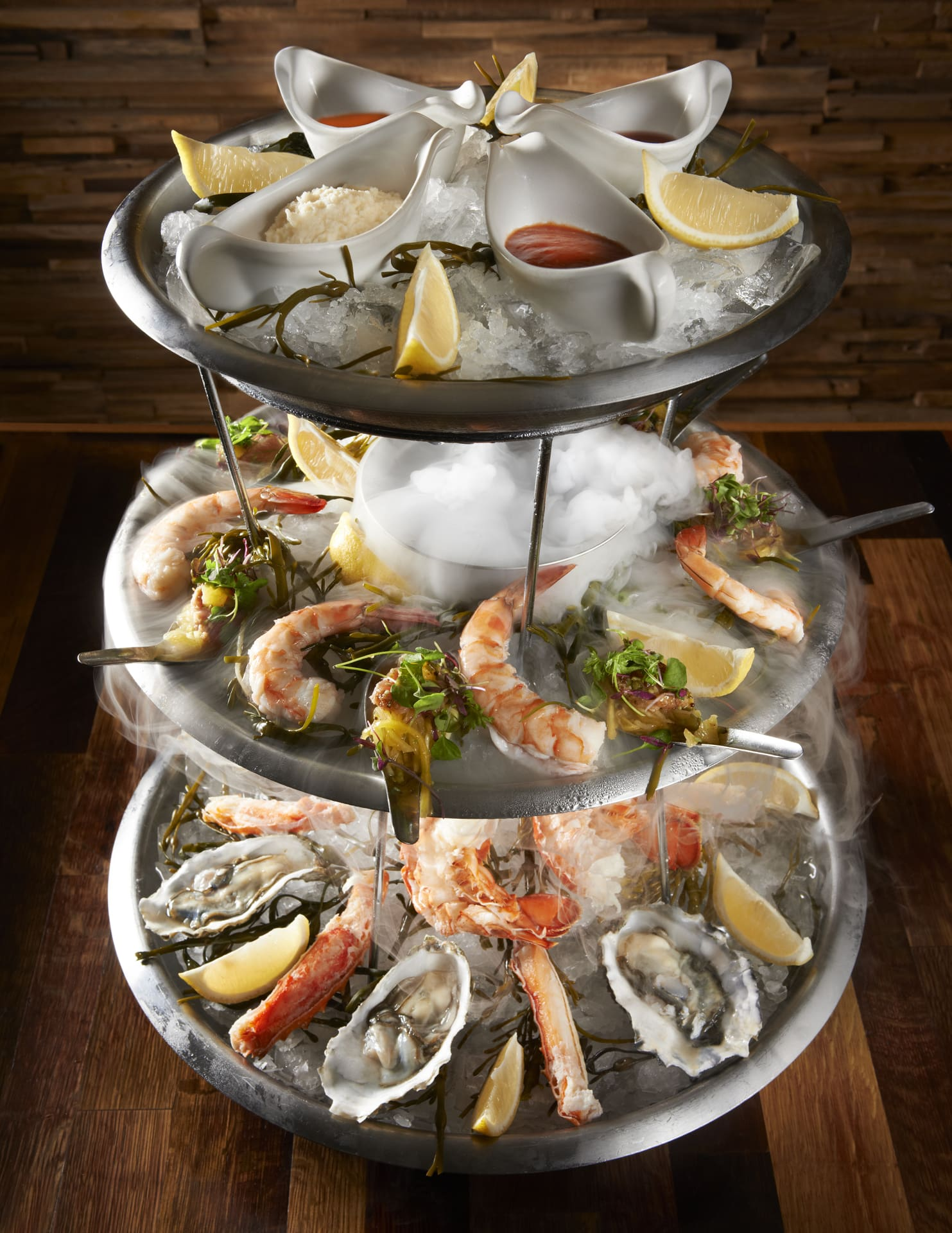 The Winery Seafood Tower