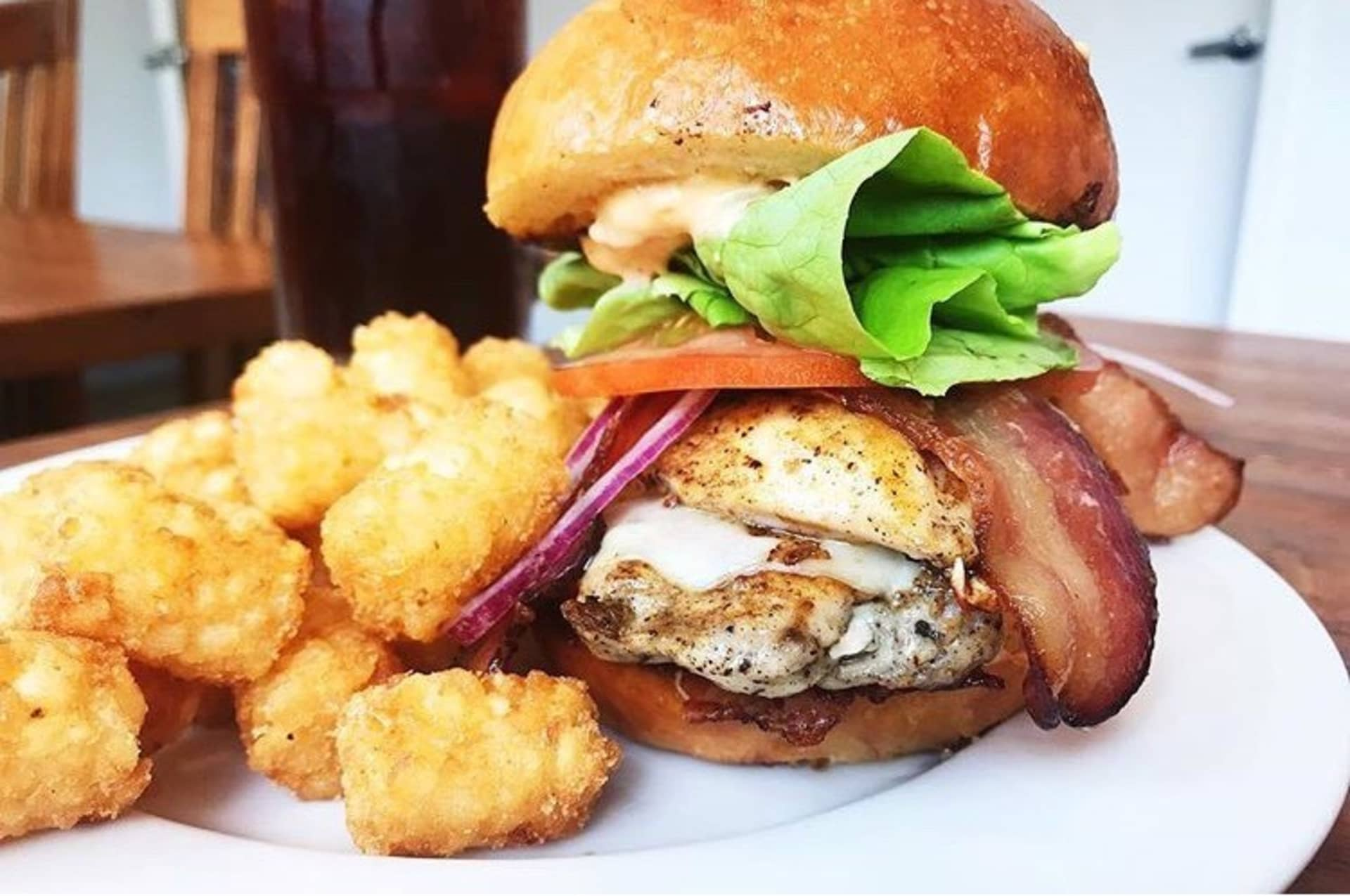 Chicken Bacon Burger