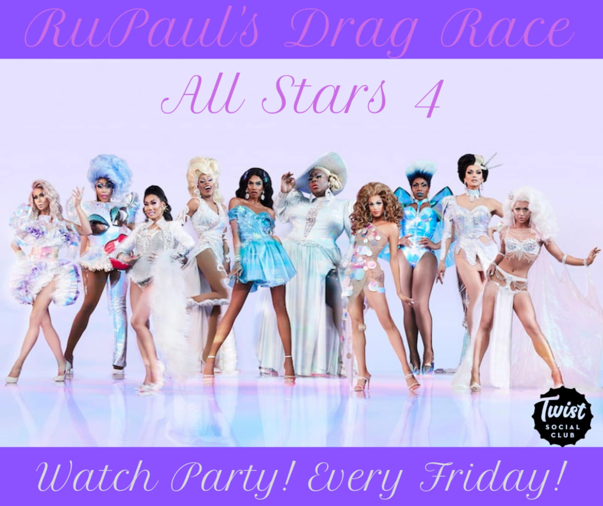 RuPaul's Drag Race All Stars 4: Watch Party