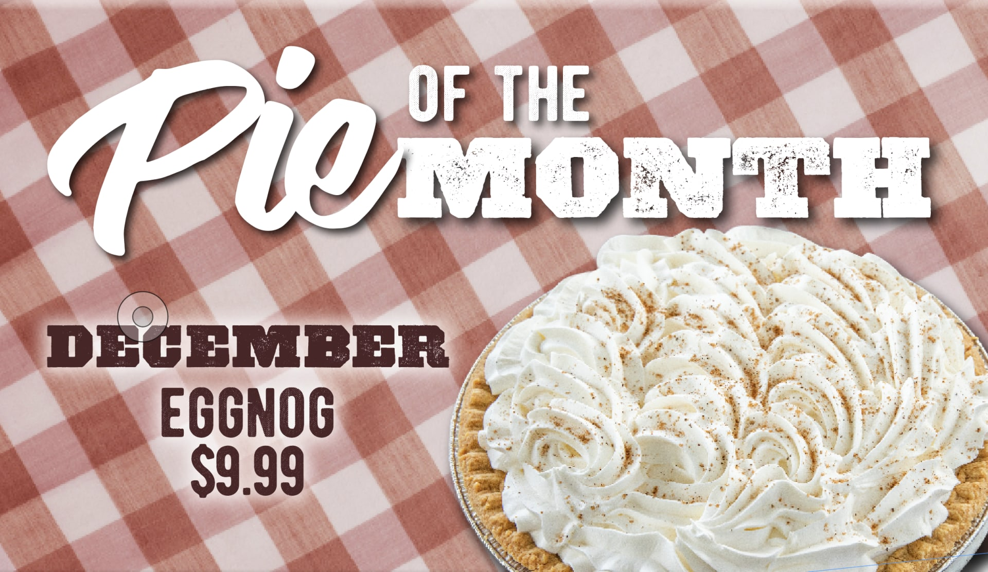 Pie of the Month - Egg Nog
