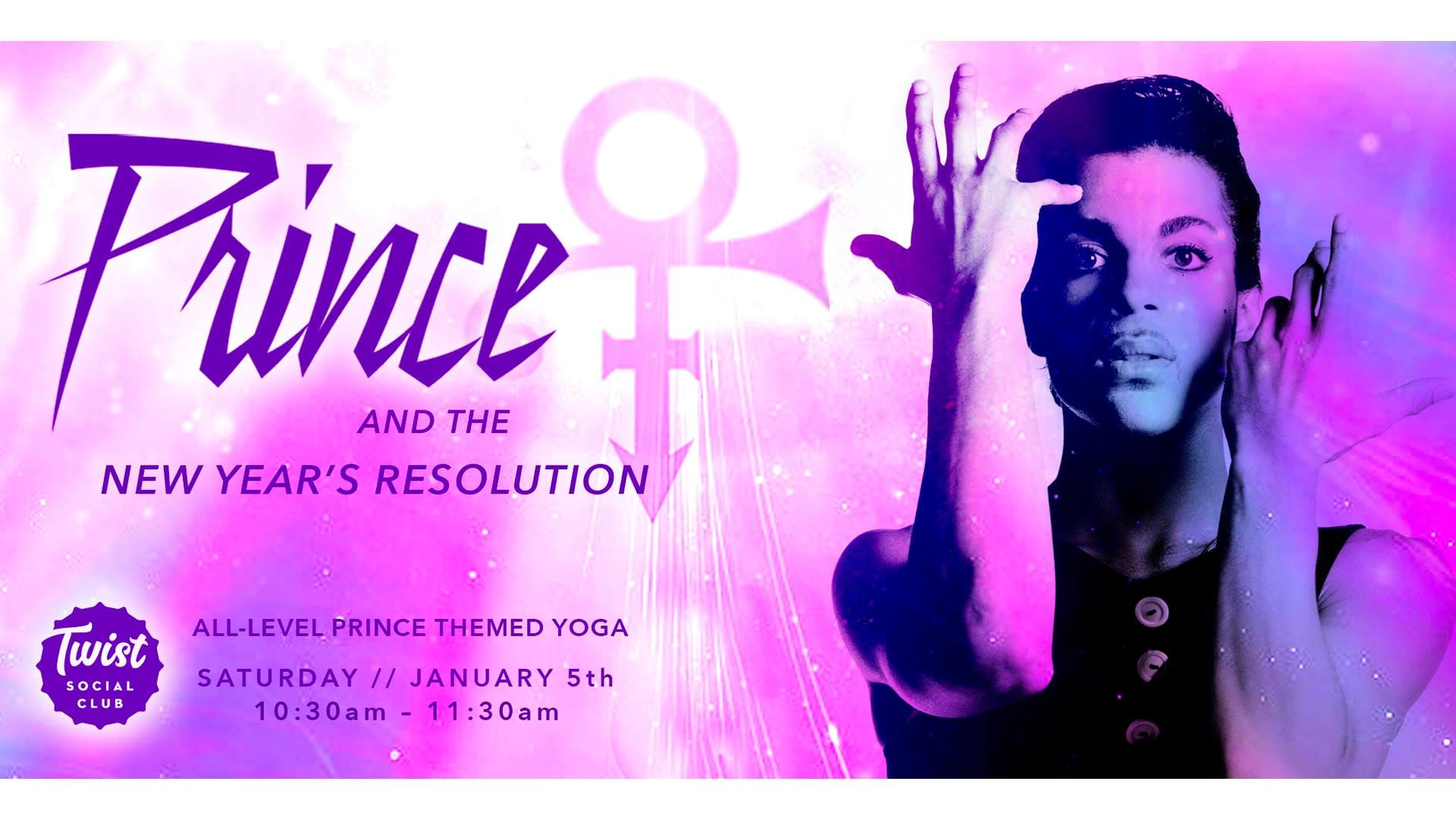 Prince and the New Years Resolution Yoga