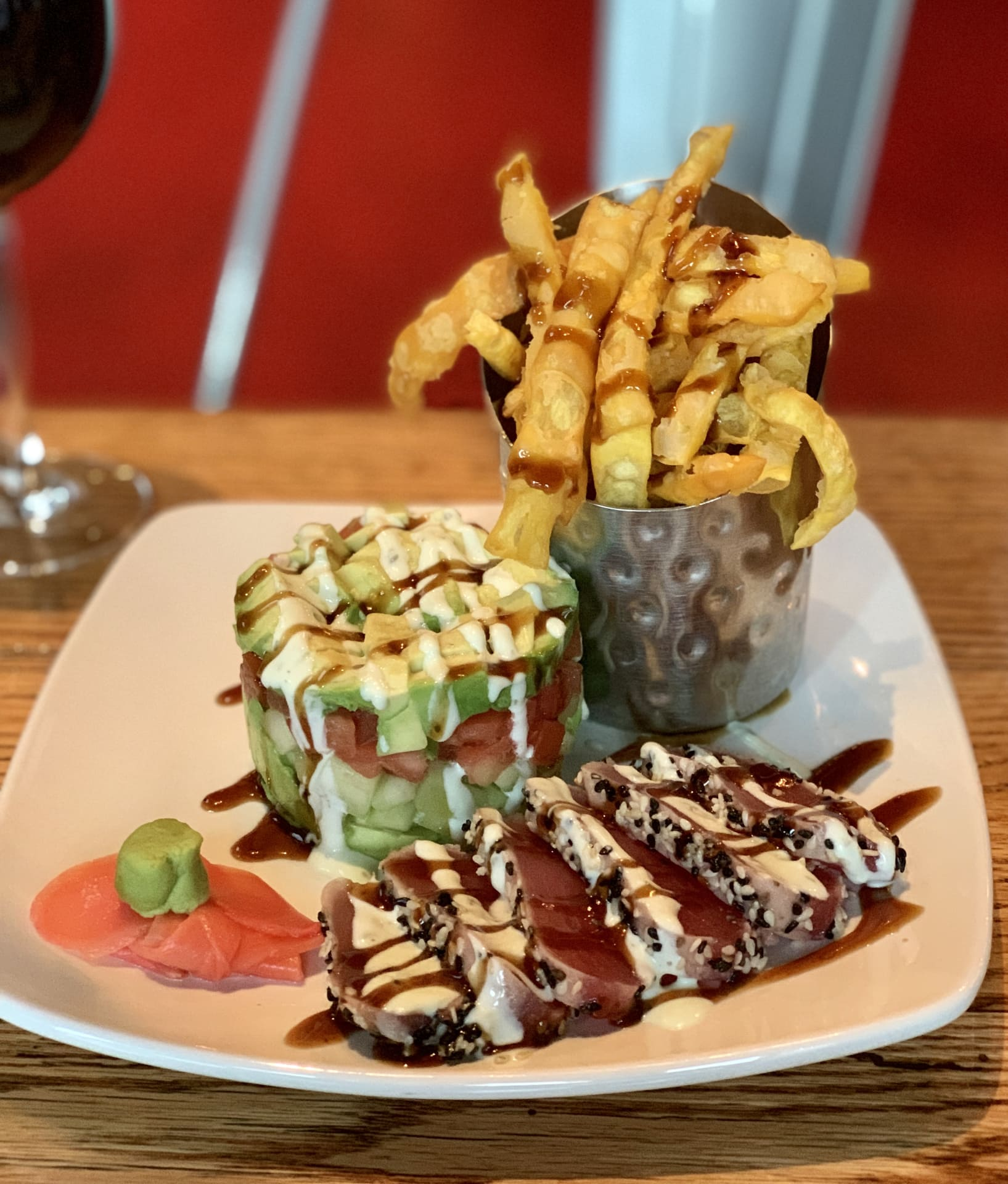 AHI TUNA & AVOCADO STACK