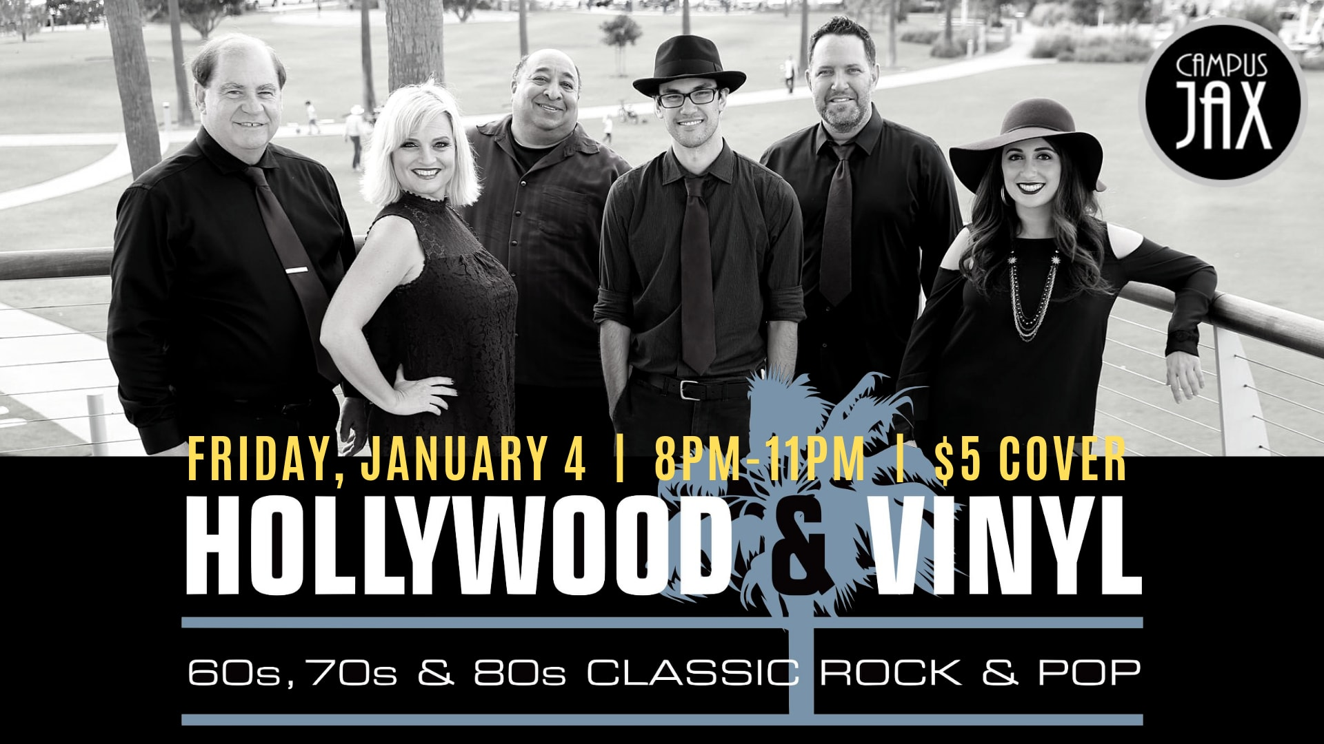 January 4 | HOLLYWOOD & VINYL - A Pete Jacobs Production