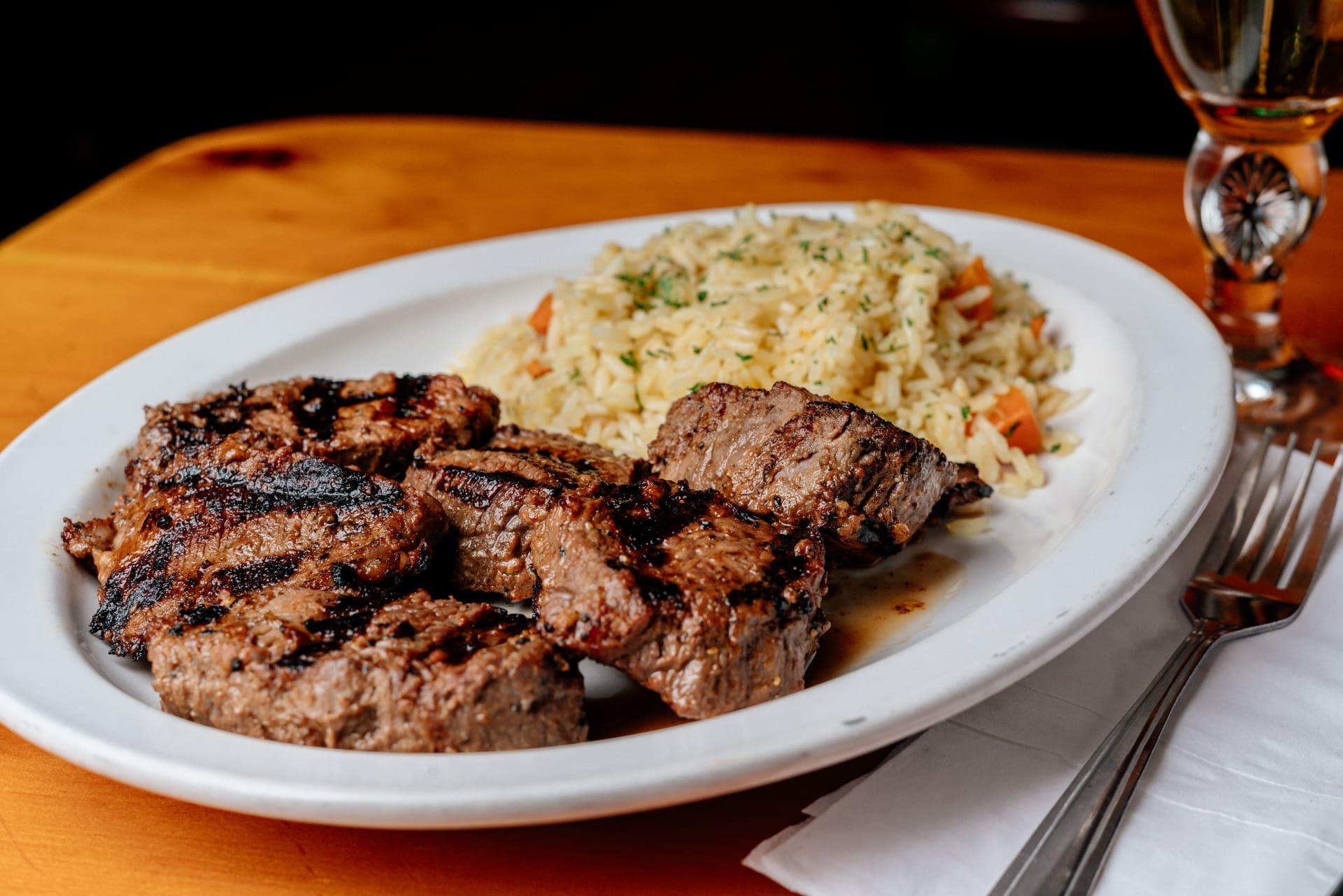 Charbroiled Steak Tips