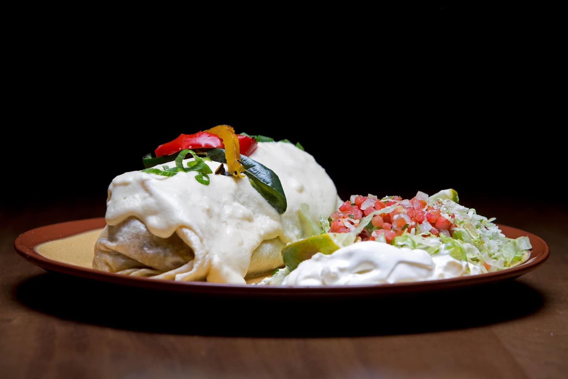 Famous Burrito Fundido