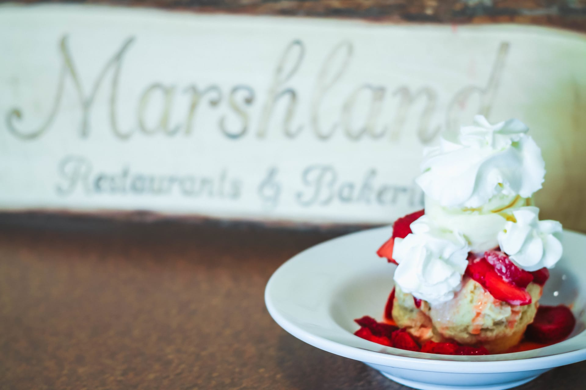 Our Specialty Strawberry Shortcake