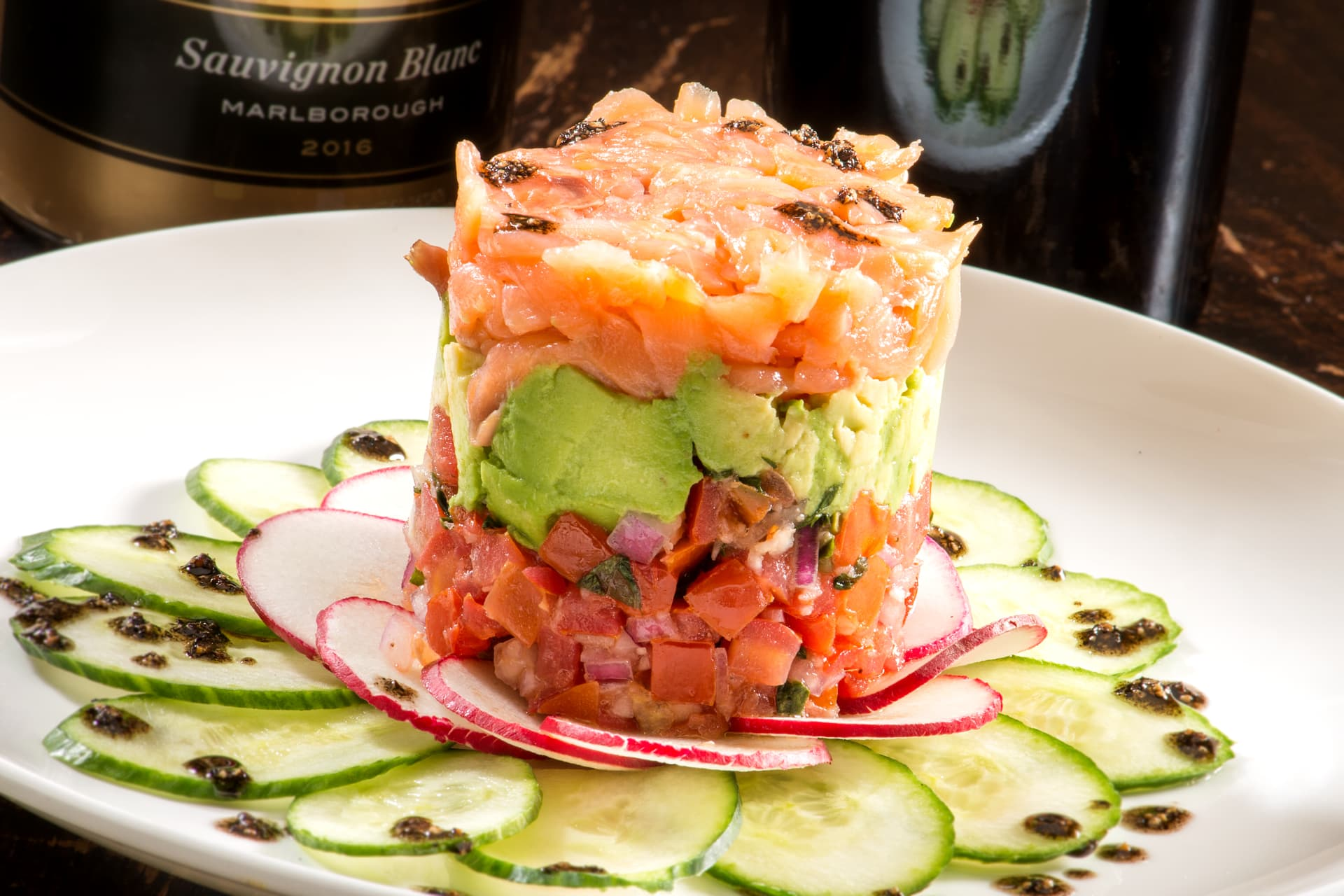 *Smoked Salmon Tower