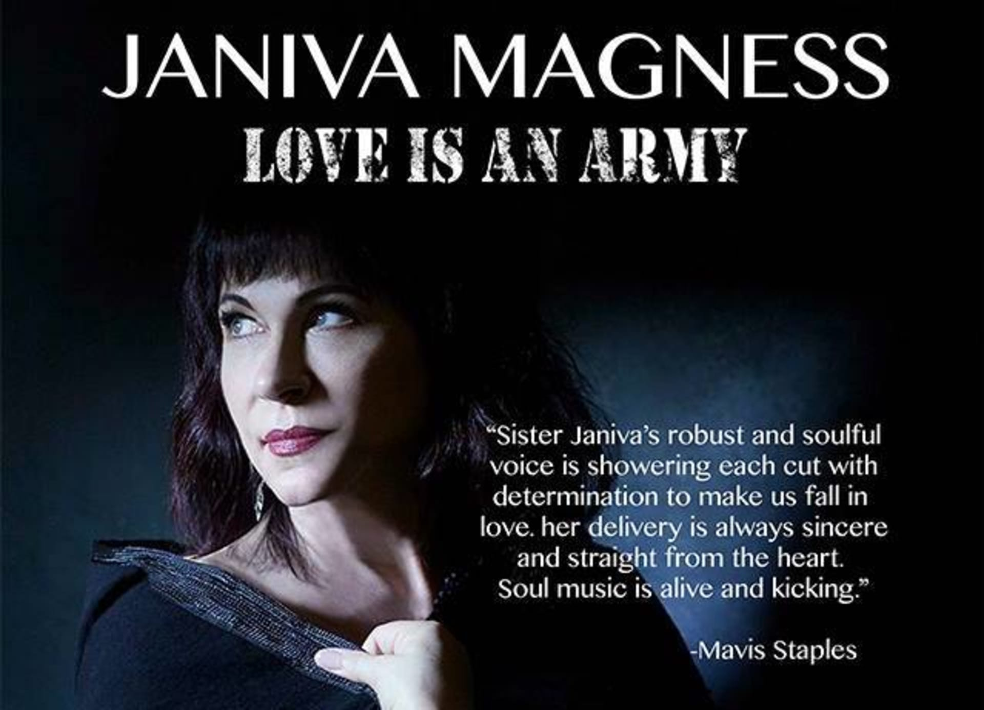 January 30 | JANIVA MAGNESS LIVE IN CONCERT! featuring LES BON TEMPS