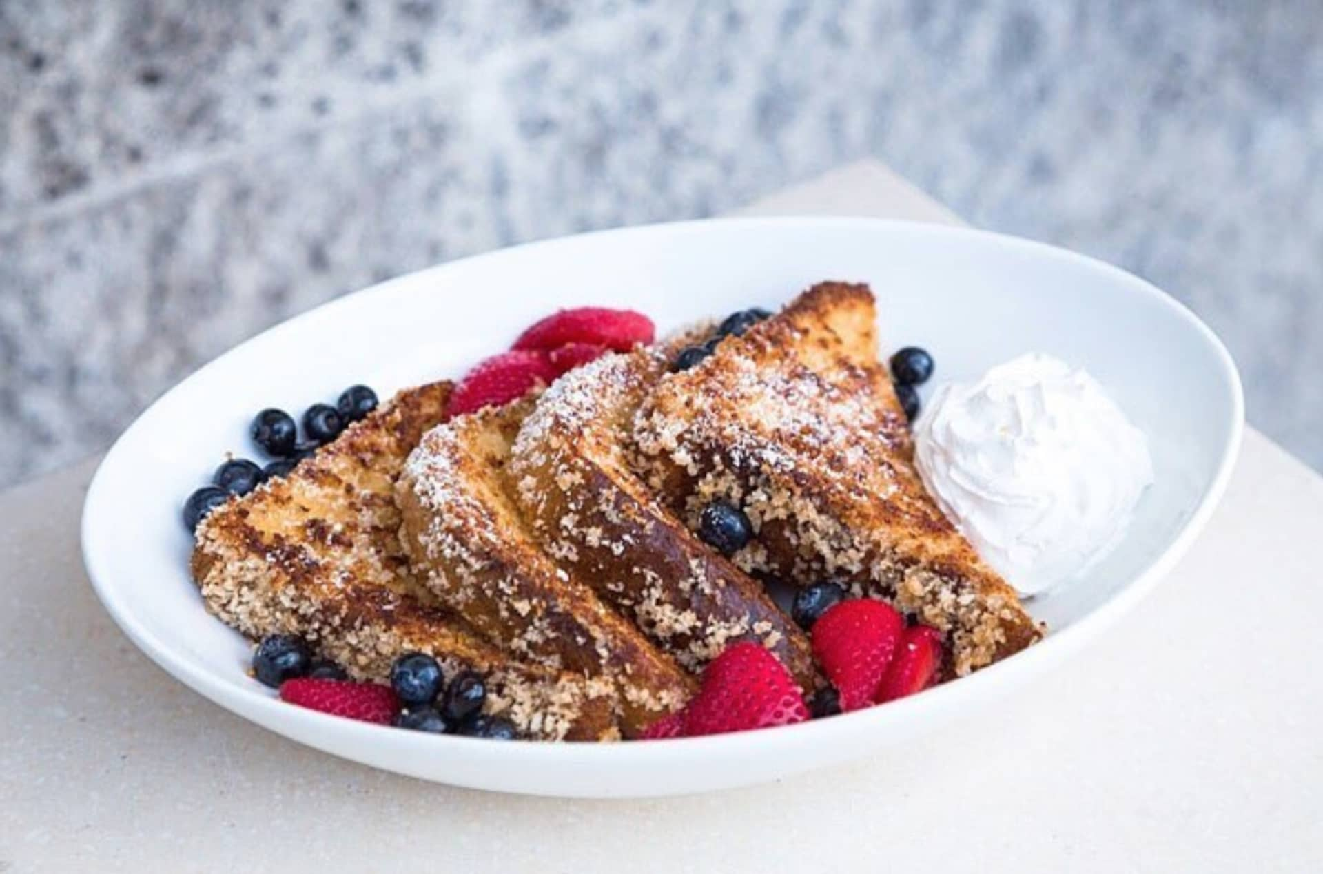 PANKO CRUSTED FRENCH TOAST