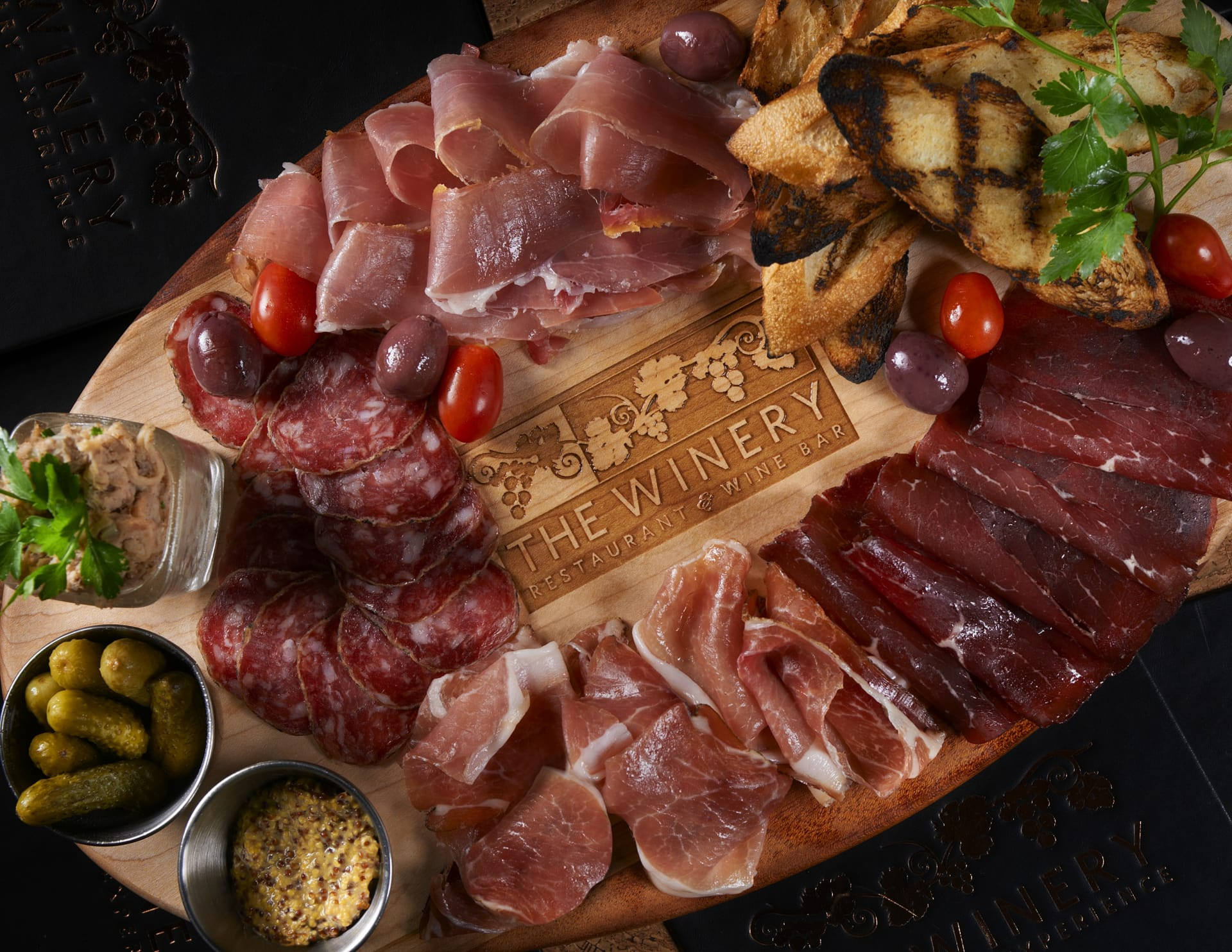 The Winery Charcuterie & Artisanal Cheese Board