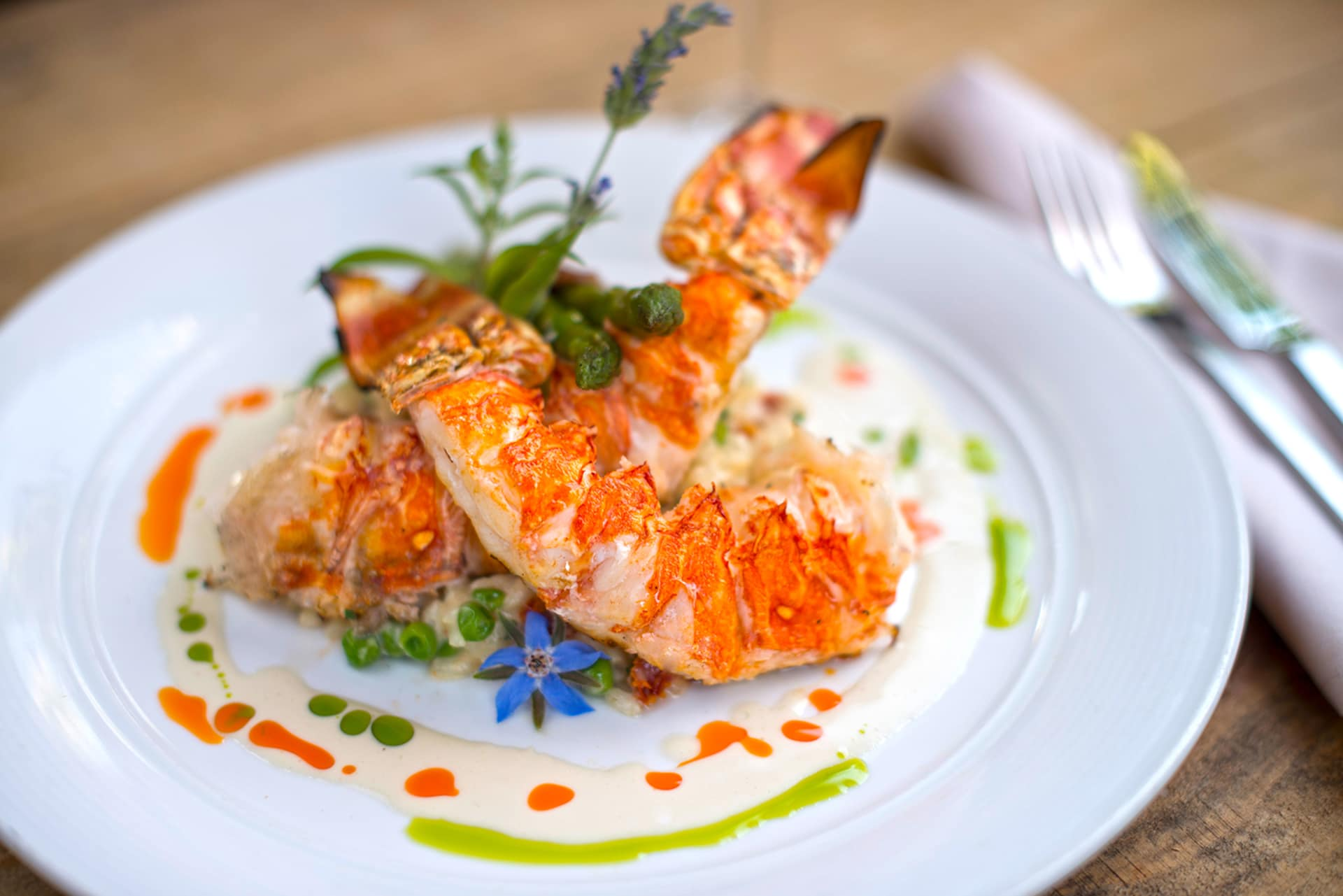 10 oz. Grilled Spiny Lobster Tail