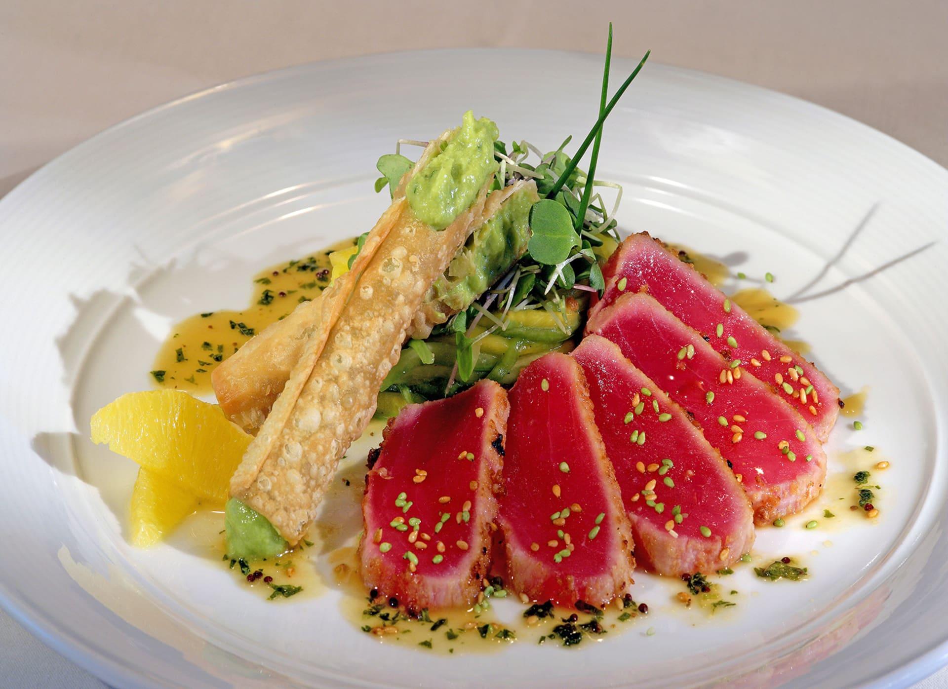 Seared Rare Ahi Tuna