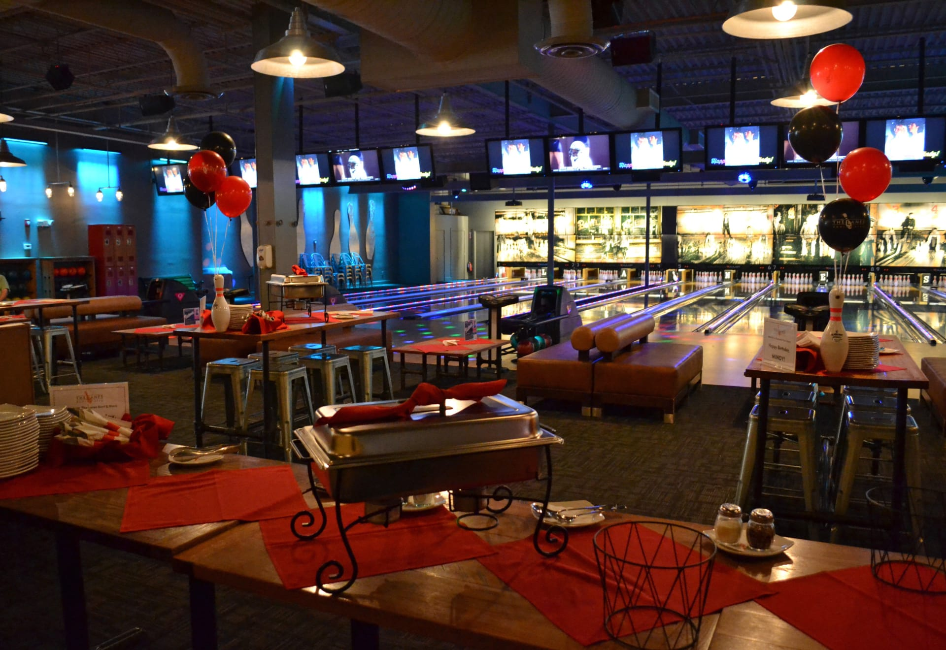 Adult Party & Bowl Packages