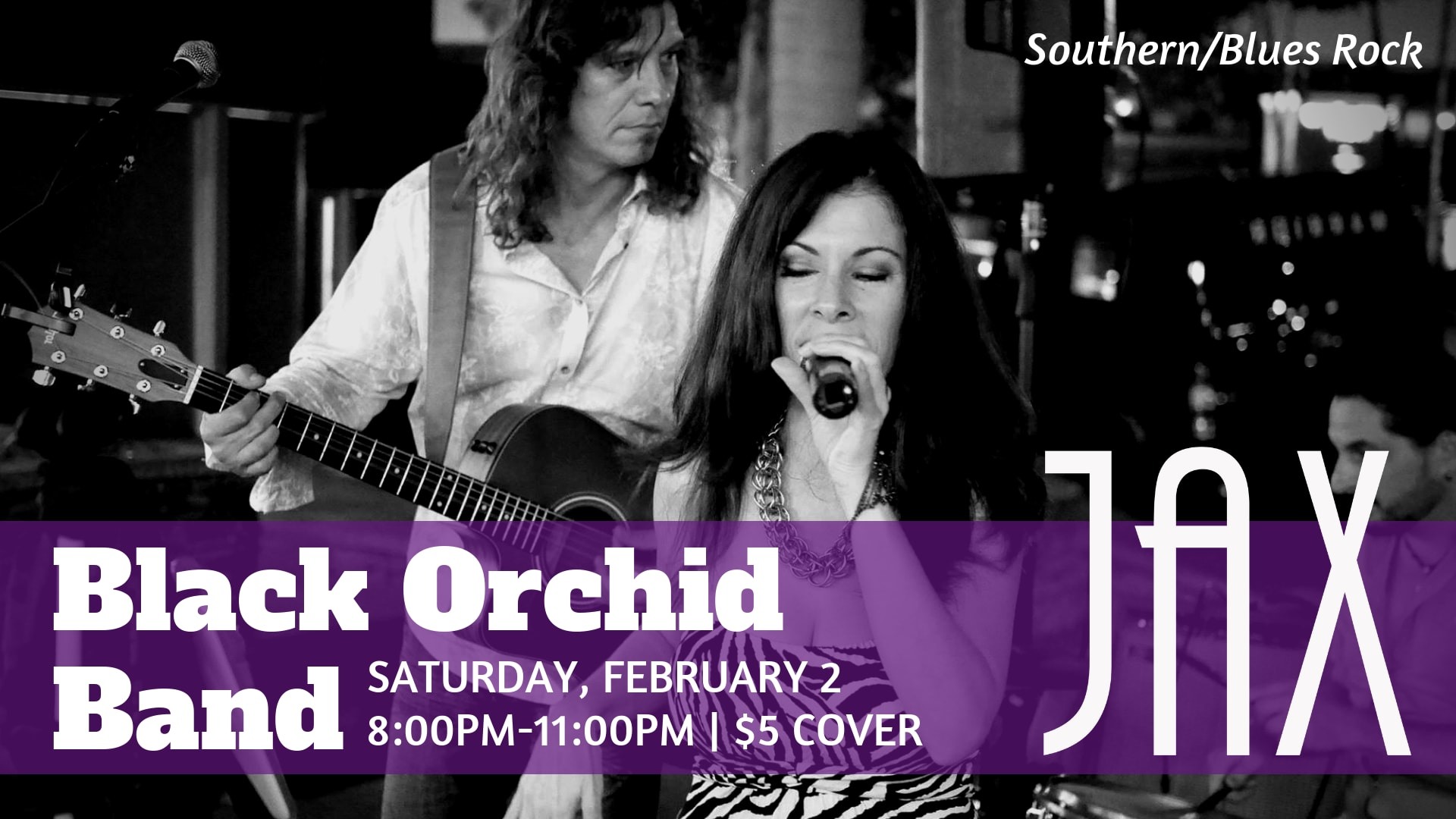 February 2 | BLACK ORCHID BAND